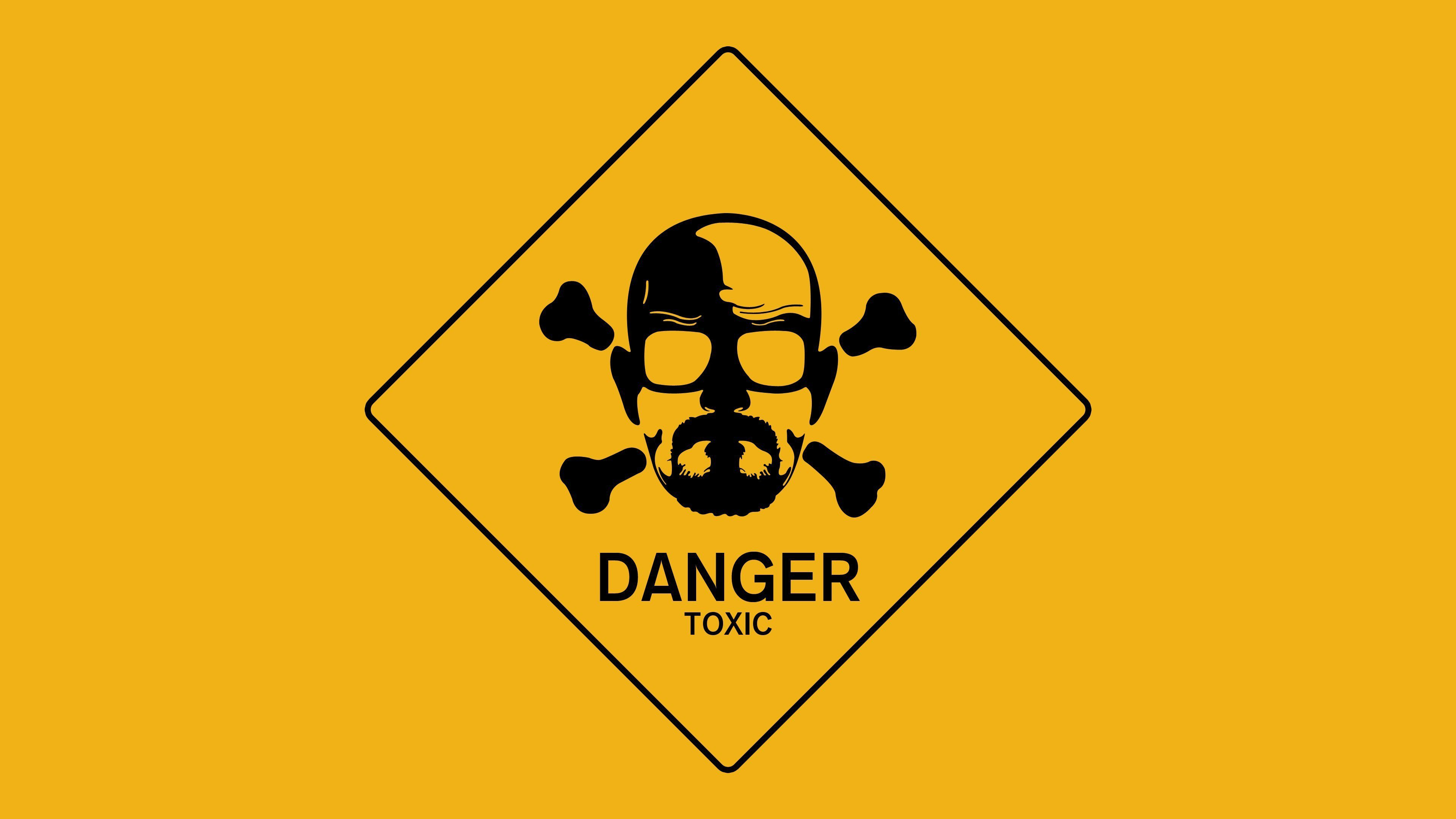 Wallpaper Danger Sign Breaking Bad