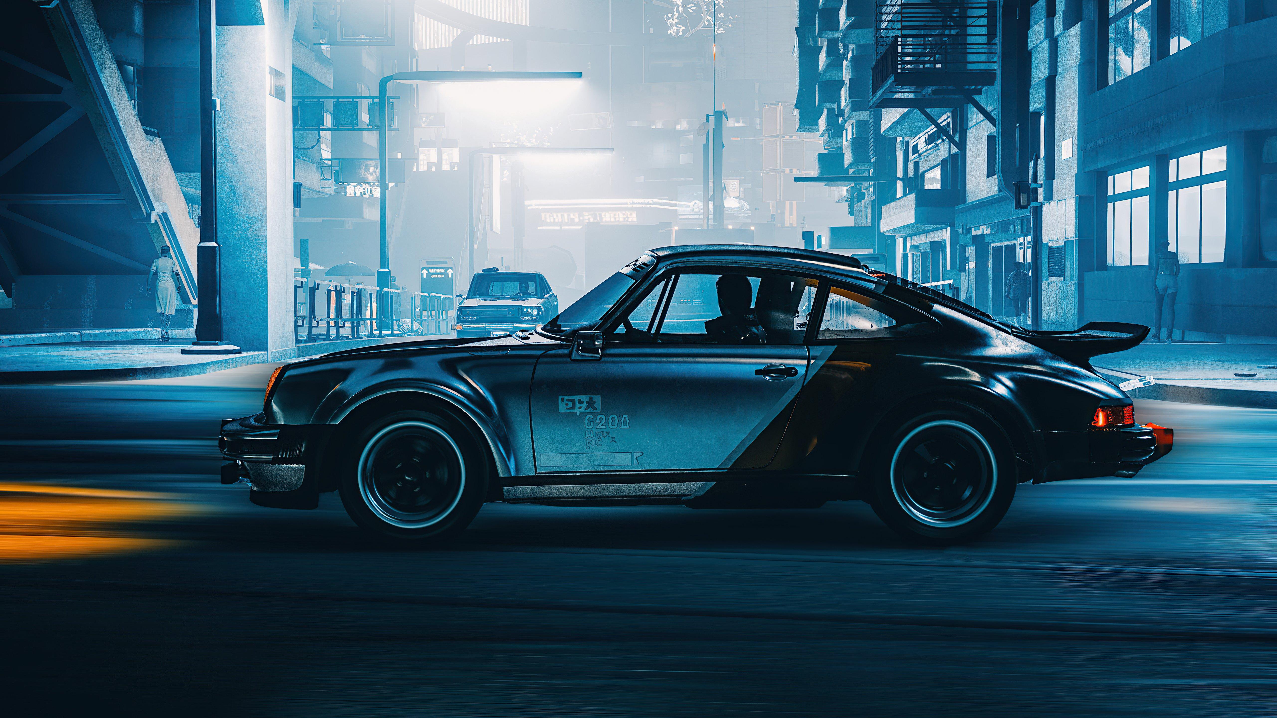 Fondos de pantalla Silverhand Porsche Cyberpunk 2077