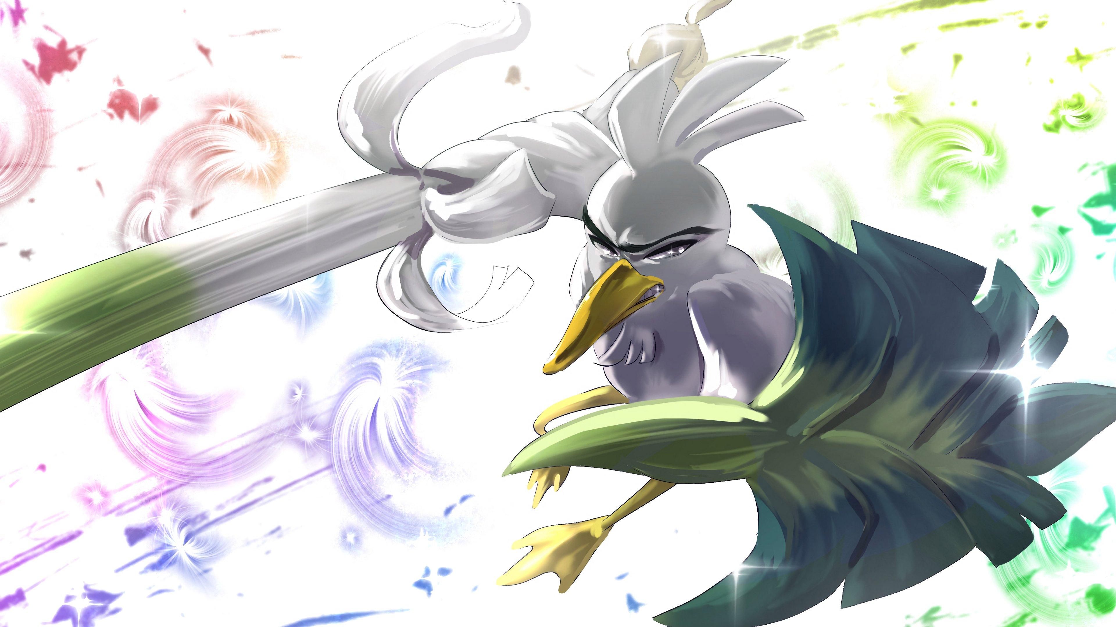 Fondos de pantalla Sirfetch'd Pokemon Espada y Pokemon Escudo