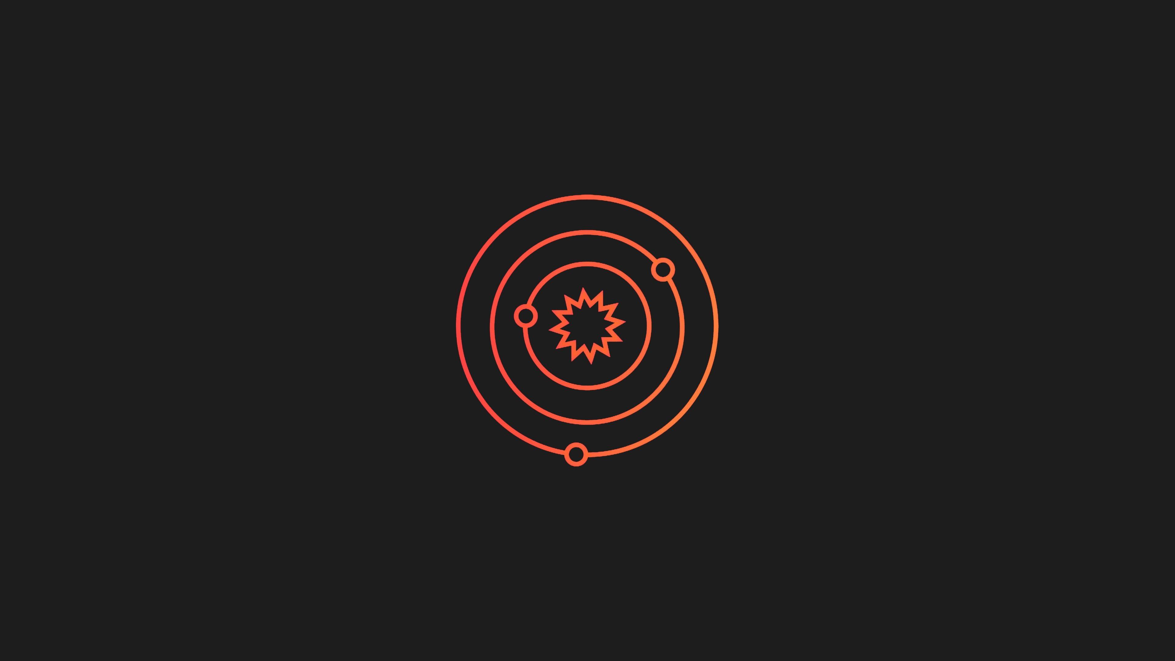 Fondos de pantalla Sistema Solar Abstracto
