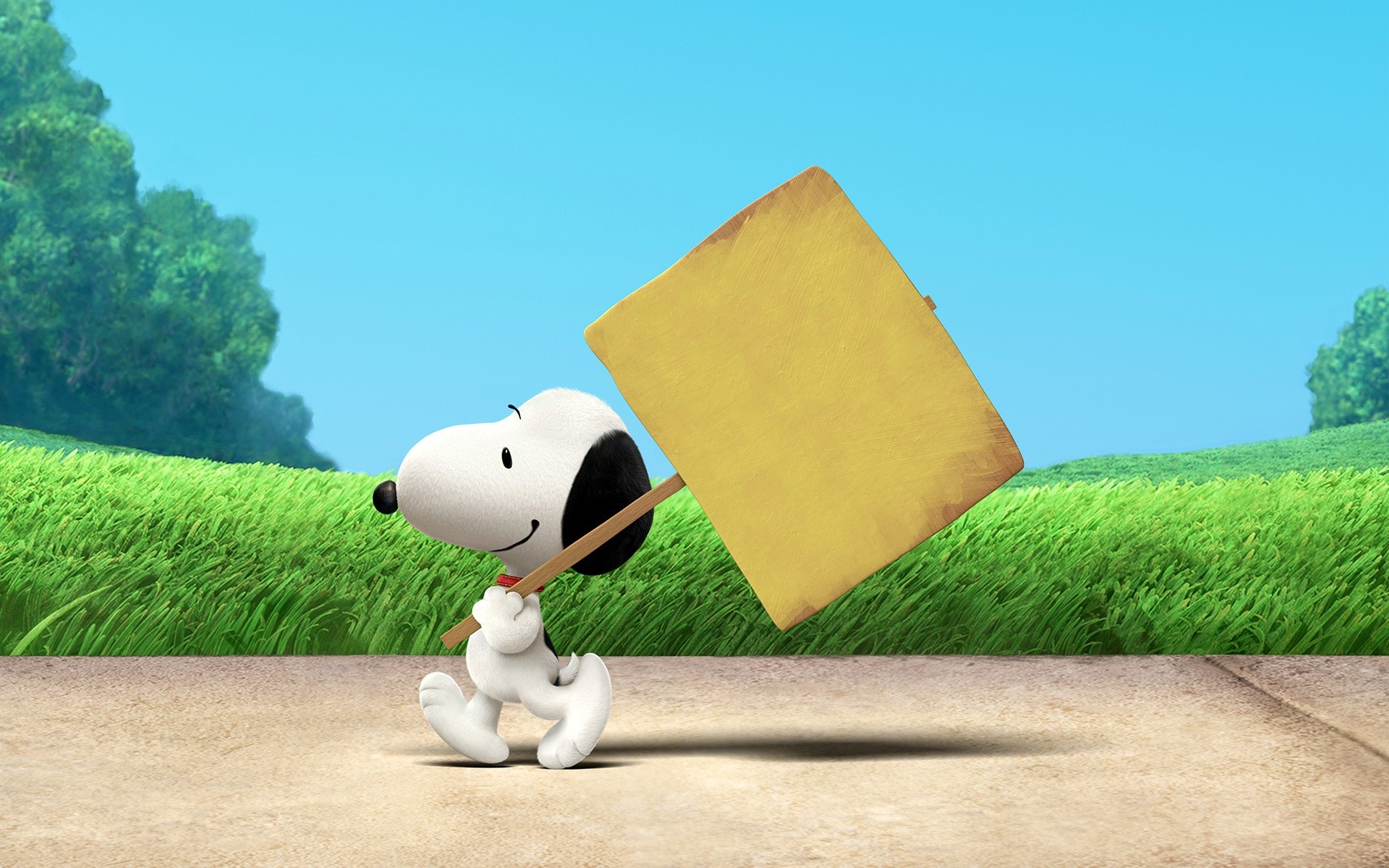 Wallpaper Snoopy the movie