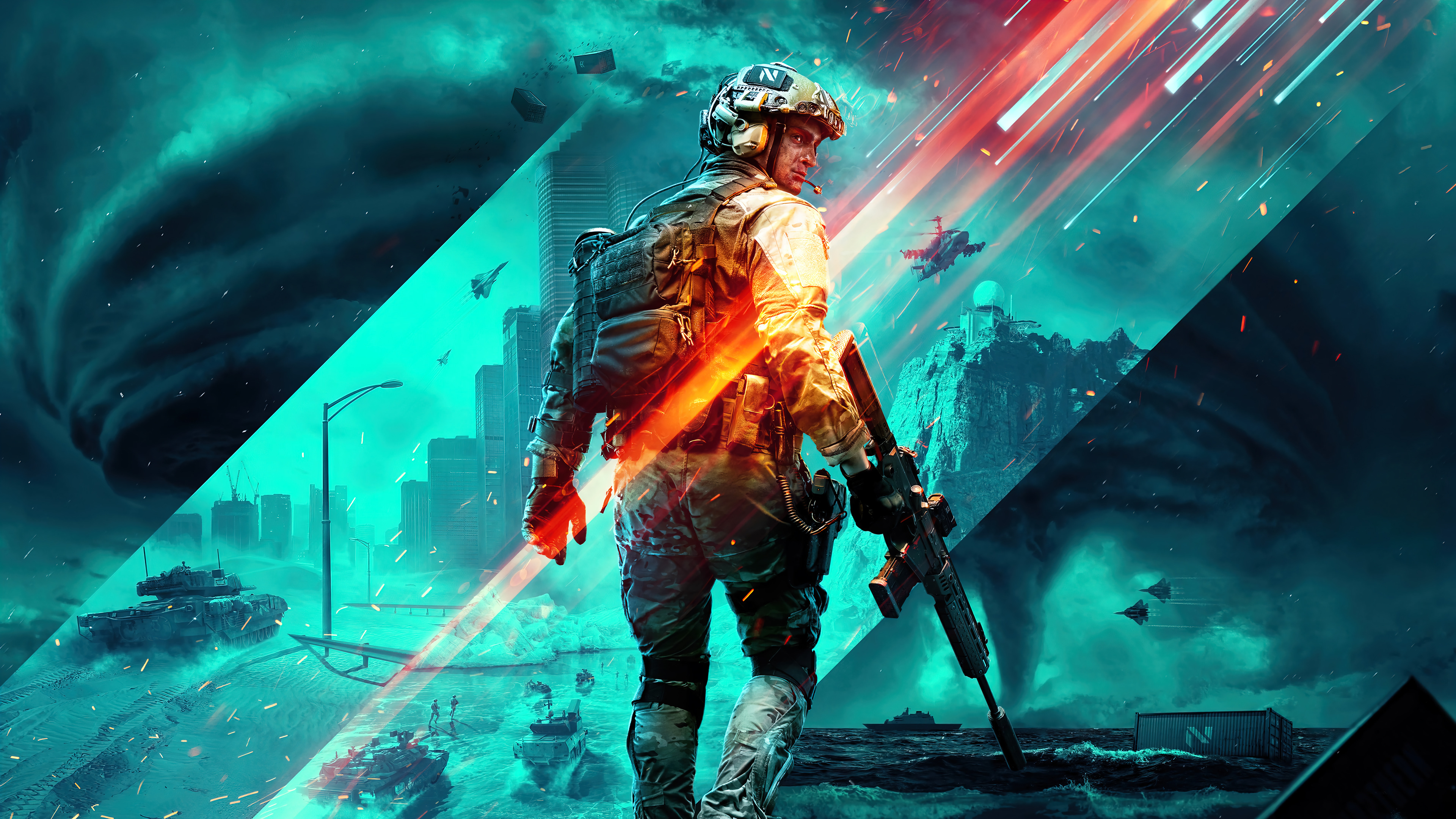 Wallpaper Soldier from Battlefield 2042
