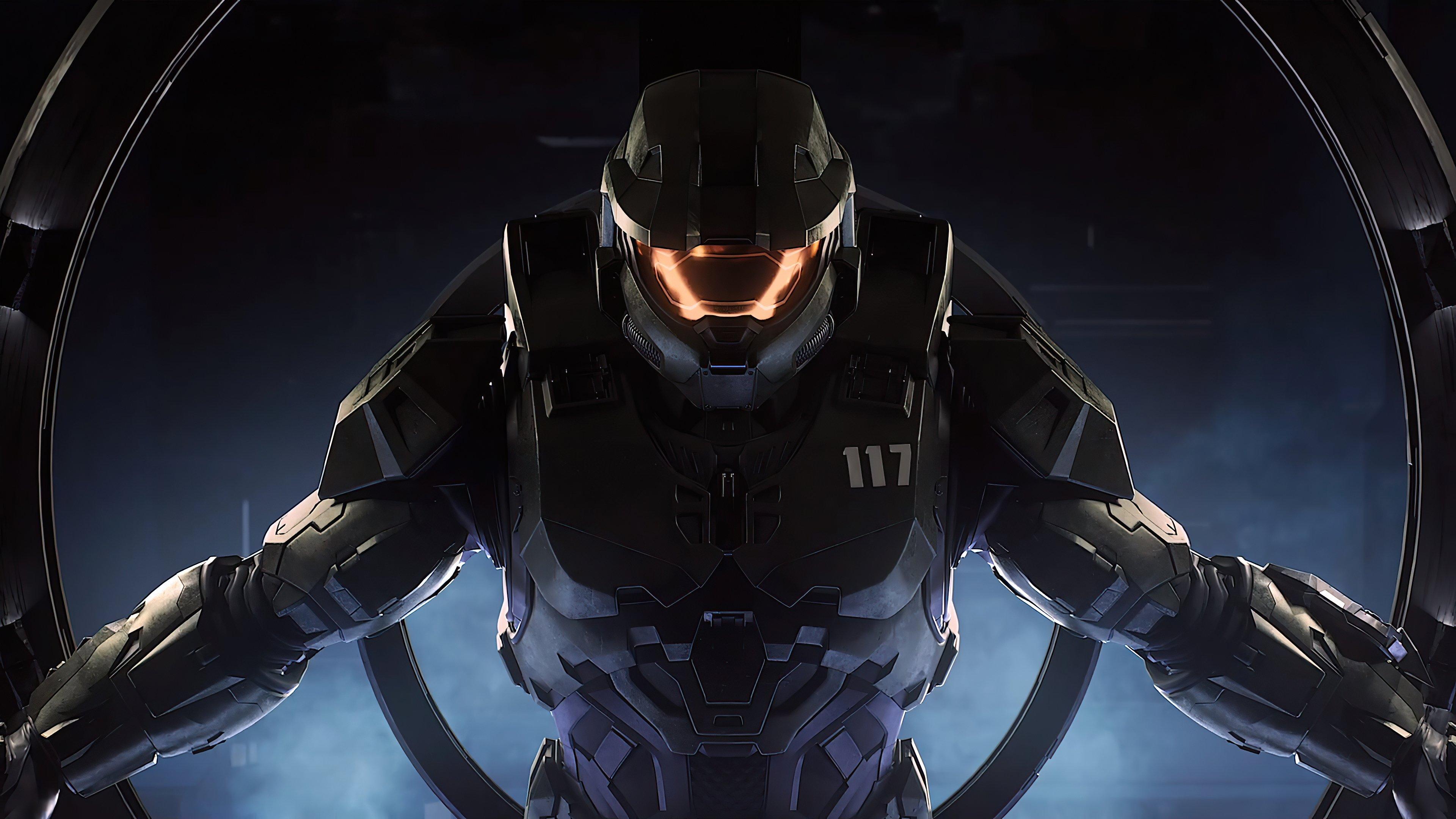 Fondos de pantalla Soldado de Halo infinite 2020