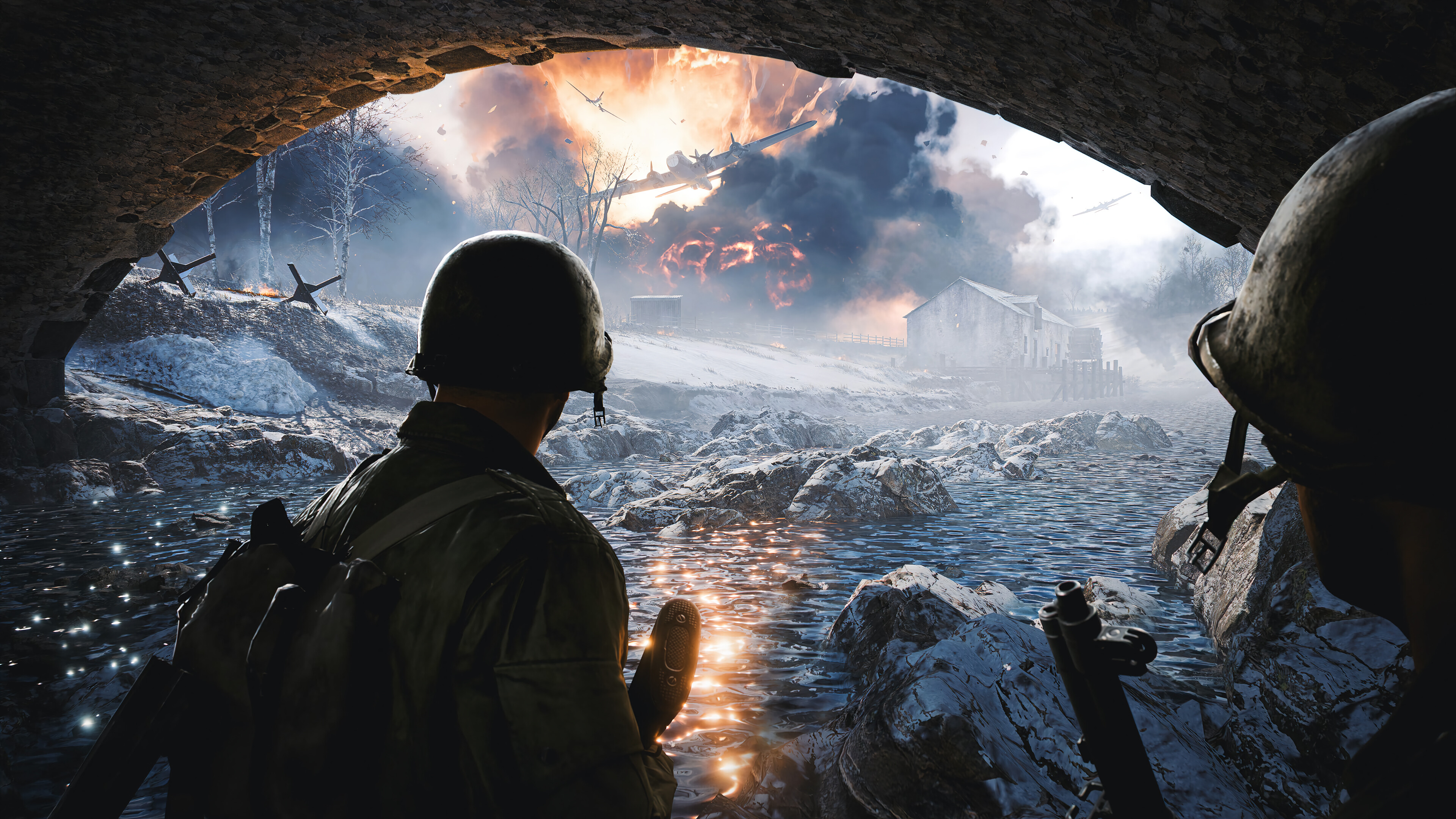 Wallpaper Soldier in Battlefield 2042