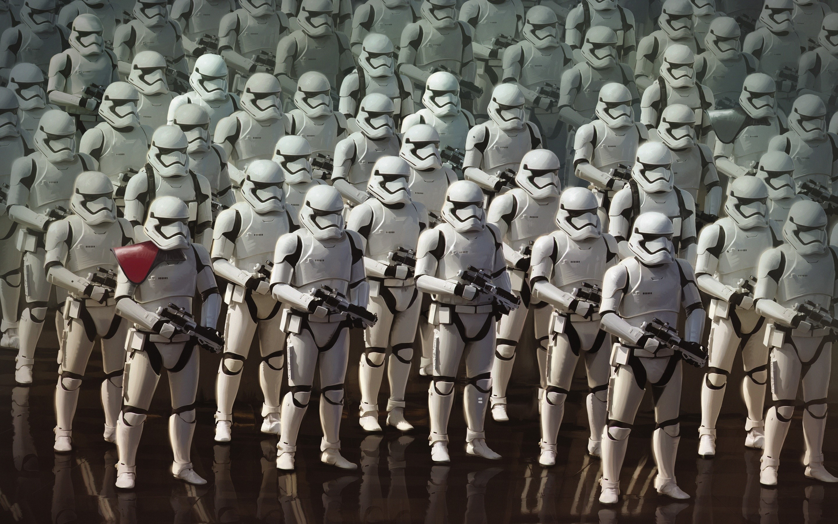 Wallpaper Imperial soldiers in Star Wars