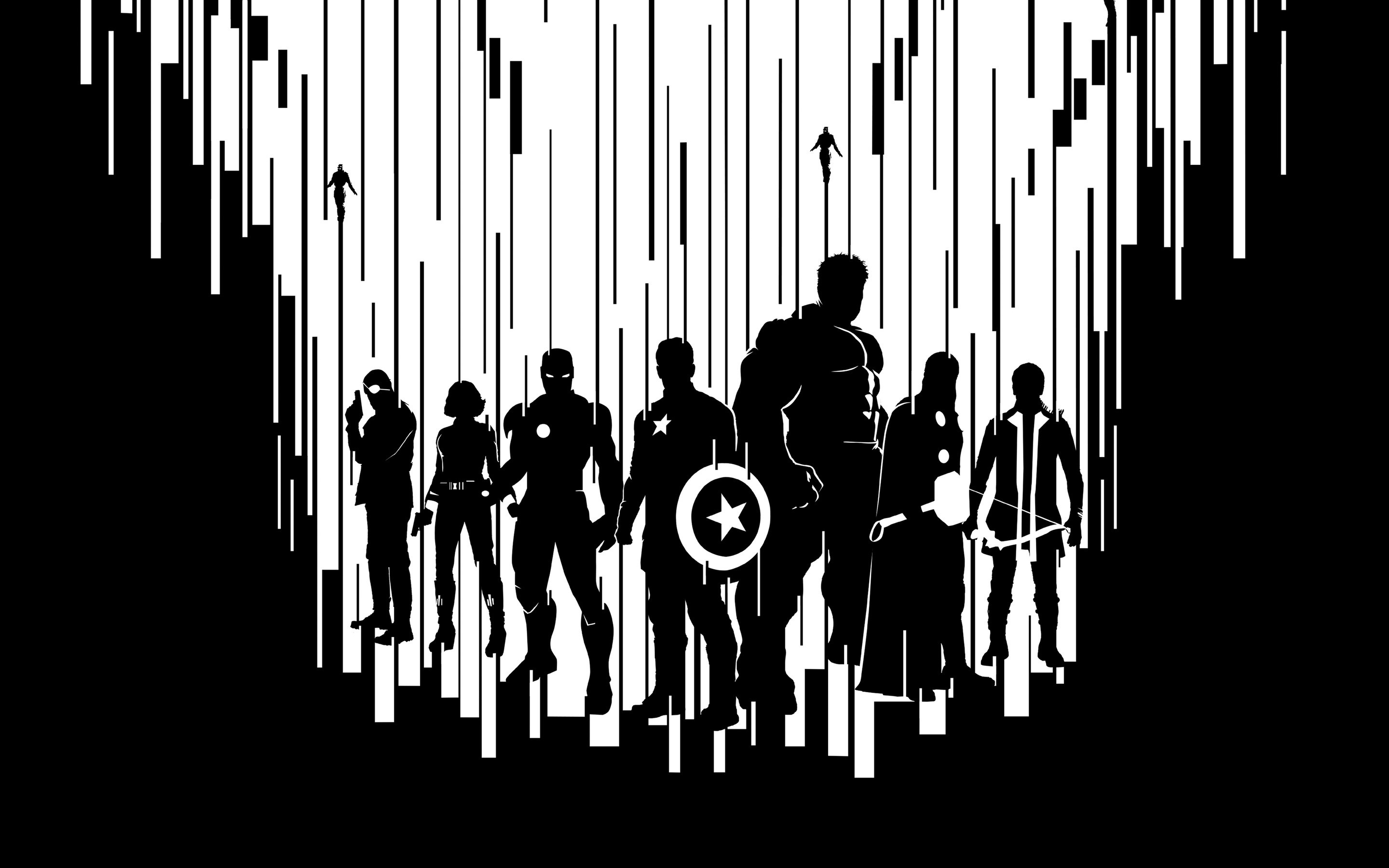 Wallpaper Shadows of the Avengers