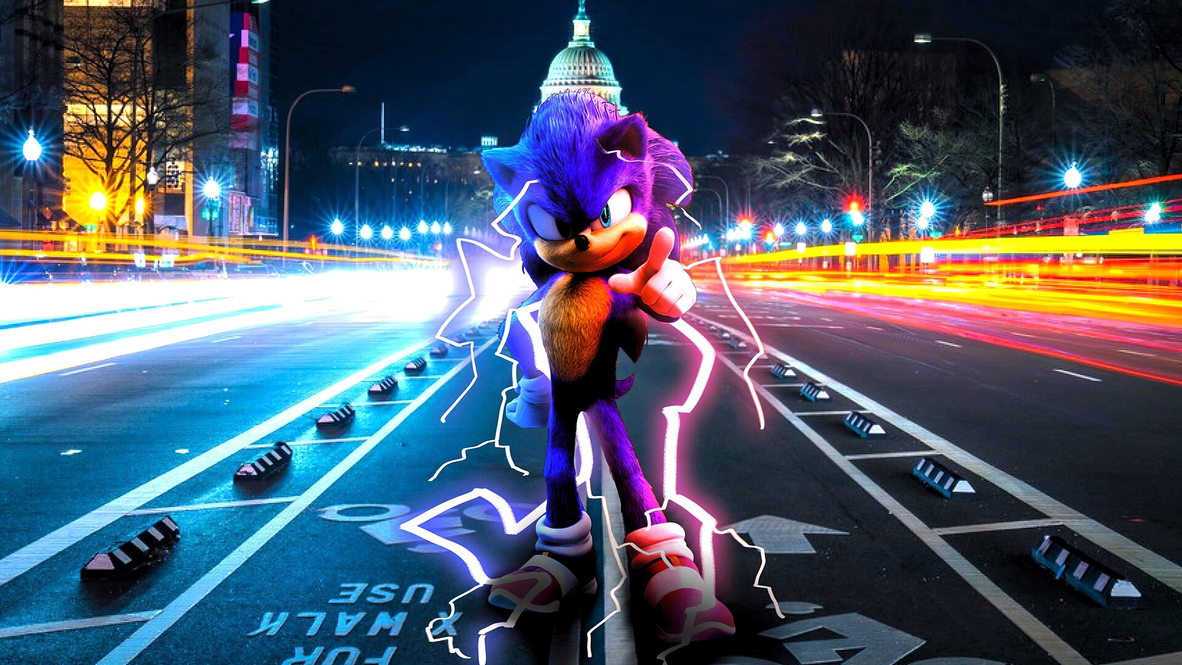 Wallpaper Sonic The Hedgehog