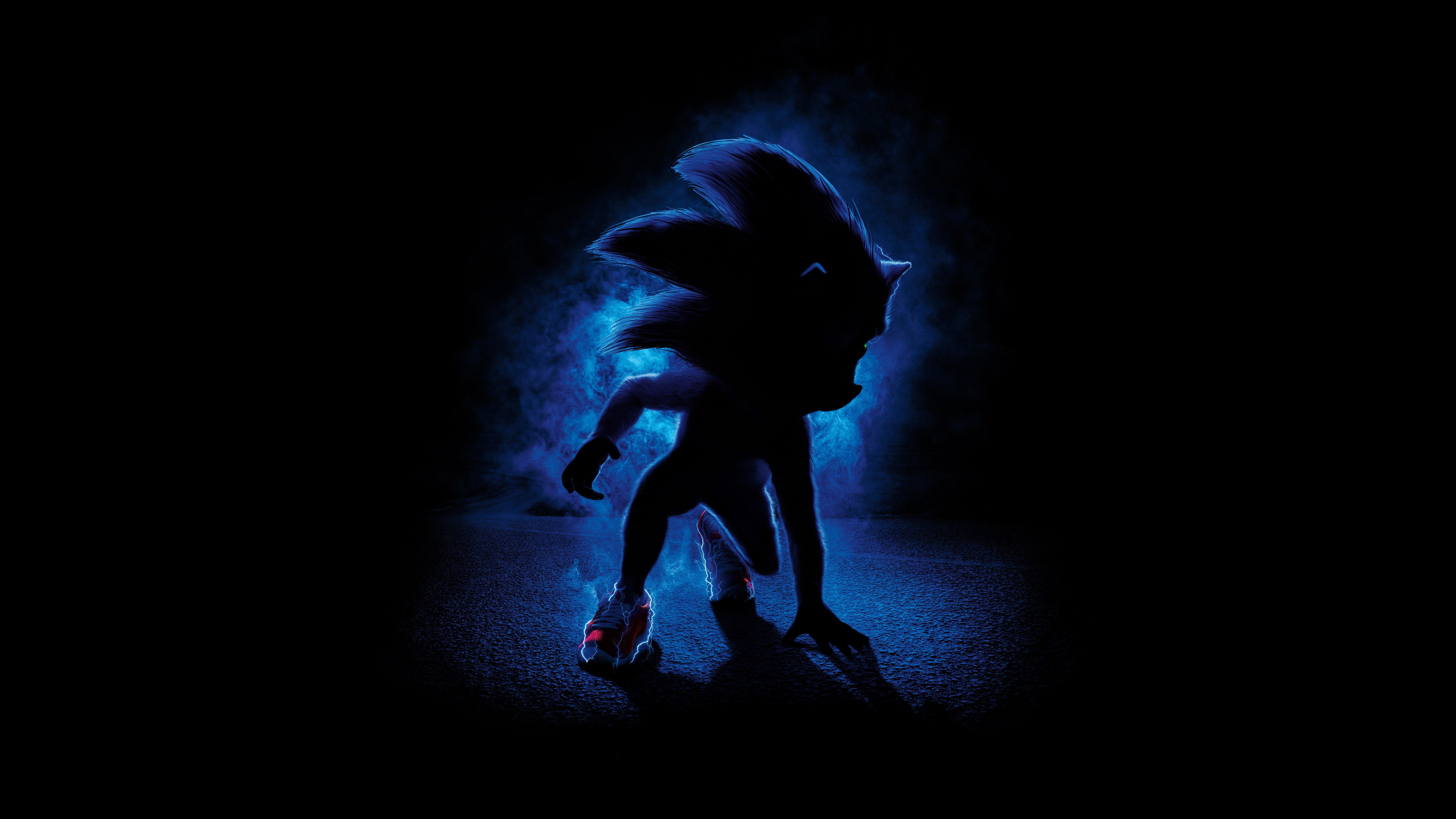 Wallpaper Sonic the Hedgehog Movie
