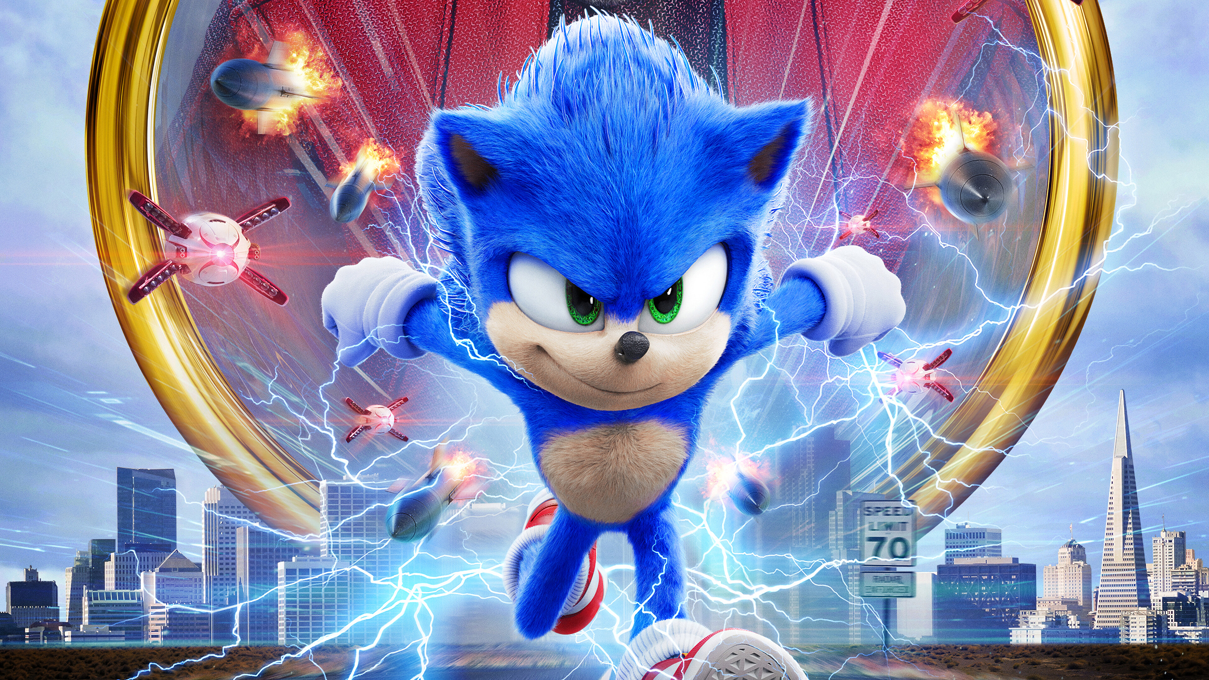Sonic The Hedgehog Movie Poster Wallpaper 4k Ultra Hd Id 4063