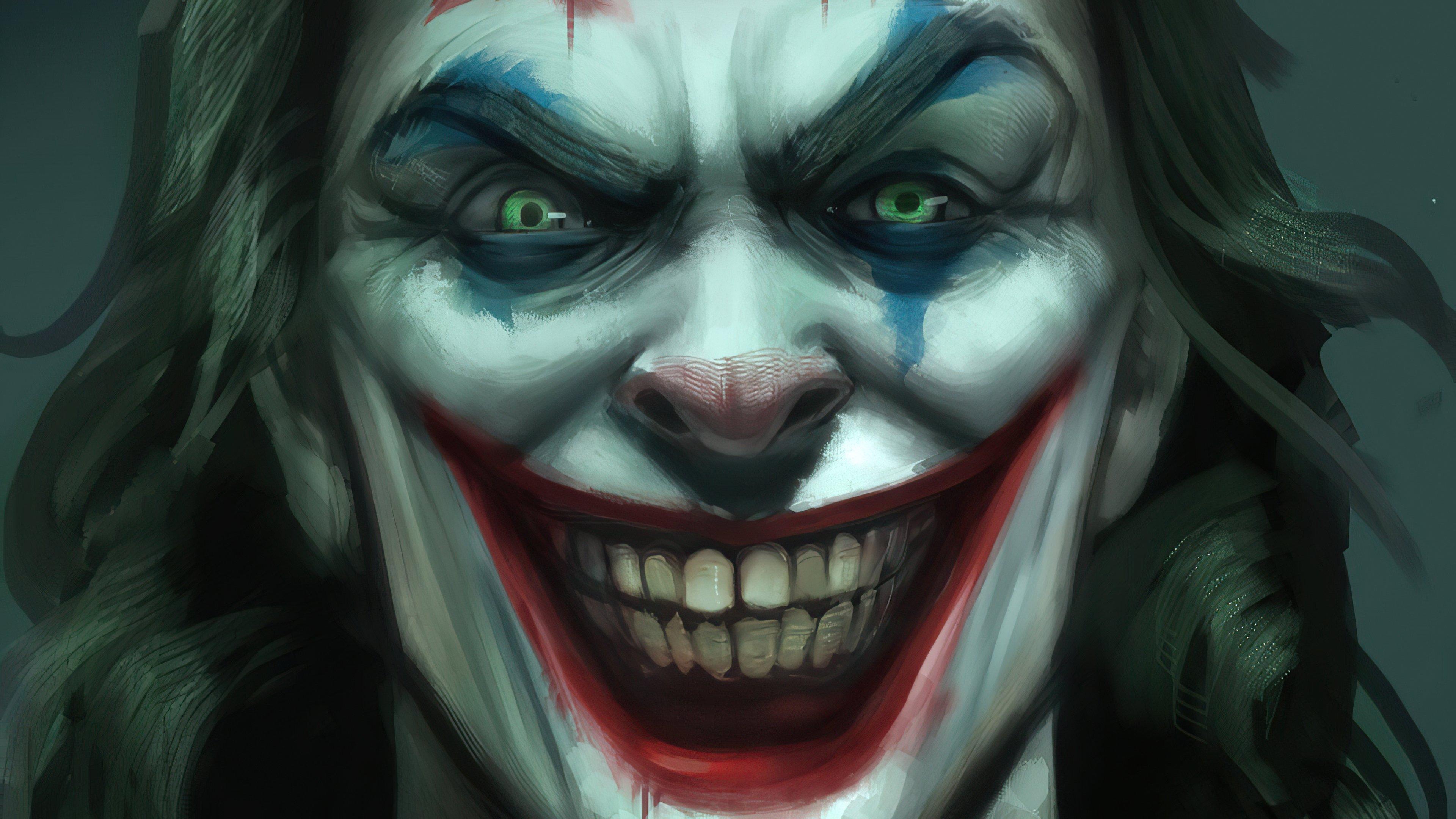 Wallpaper Joker's smile