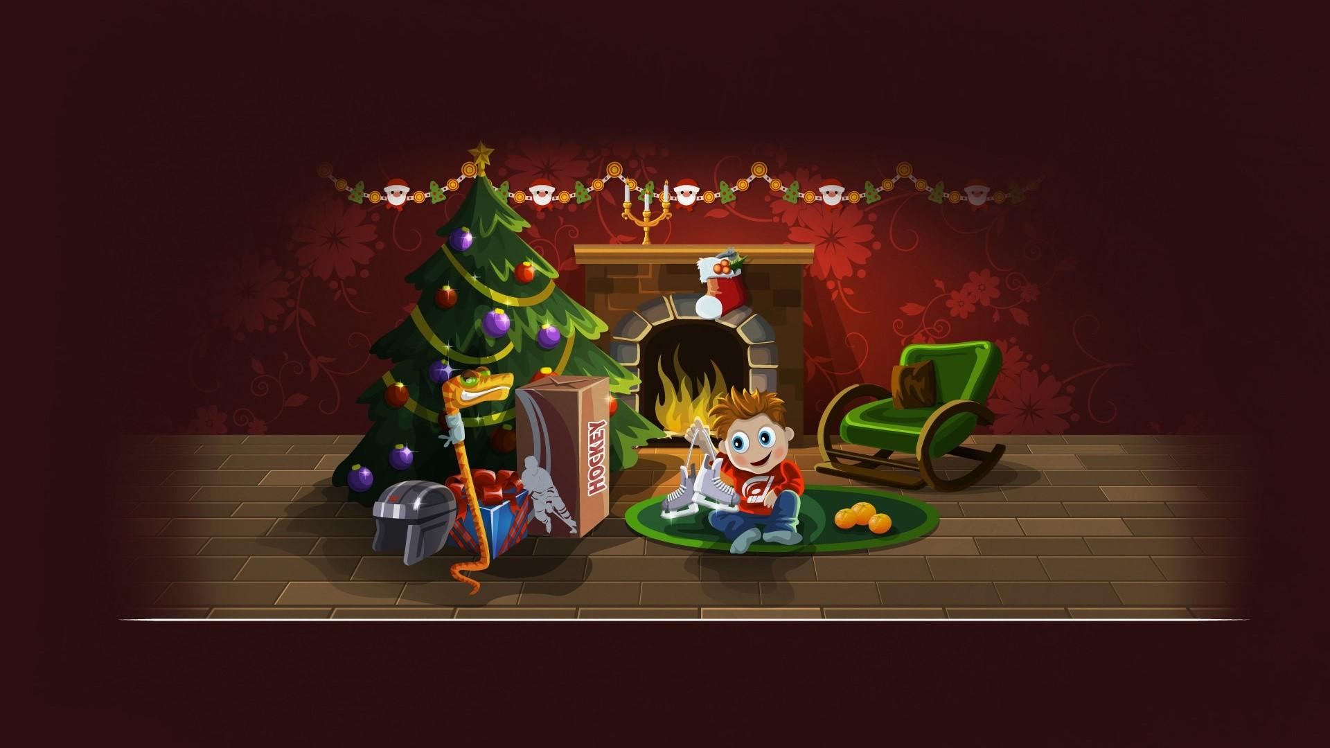Fondos de pantalla Sorpresa de navidad