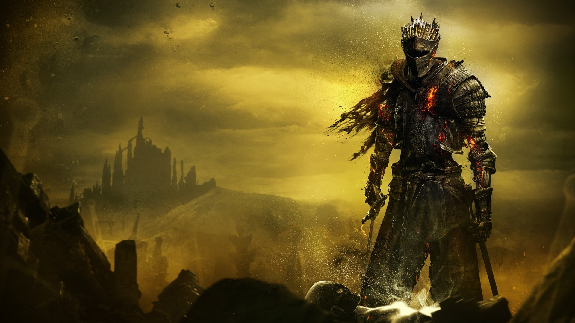 Wallpaper Soul of cinder de Dark Souls 3 Images
