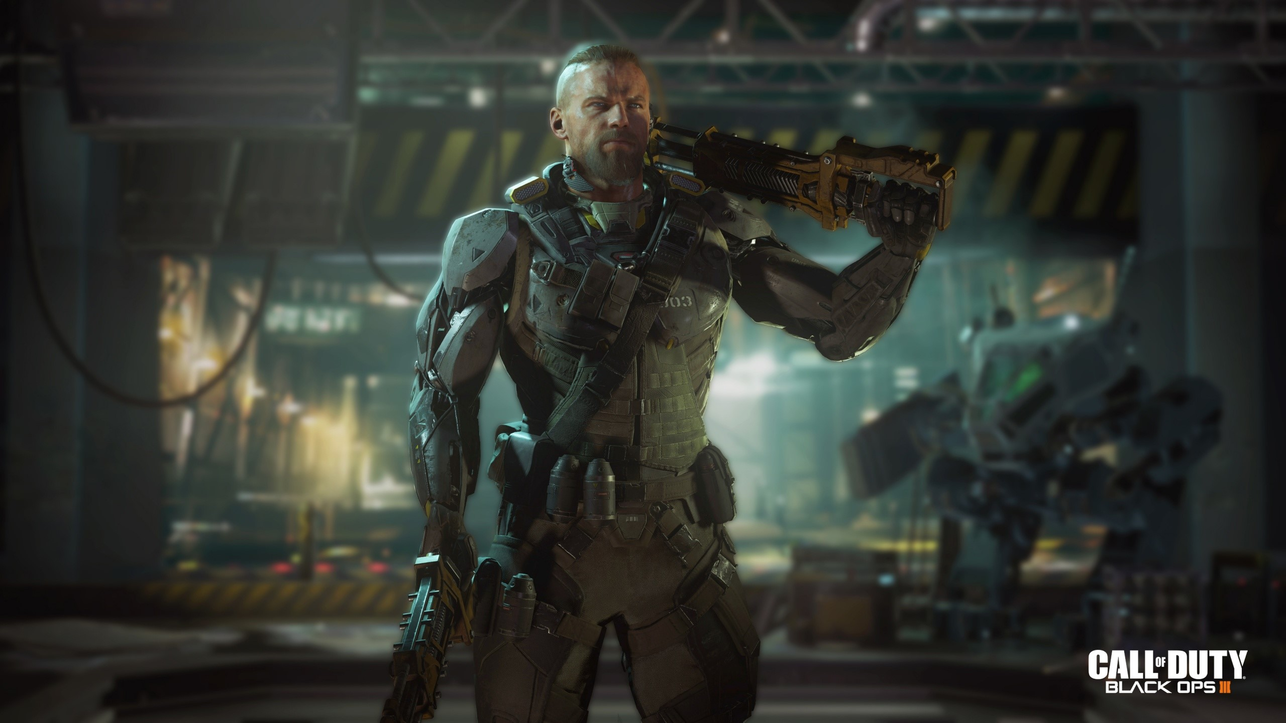 Wallpaper Call of Duty Specialist Black Ops 3