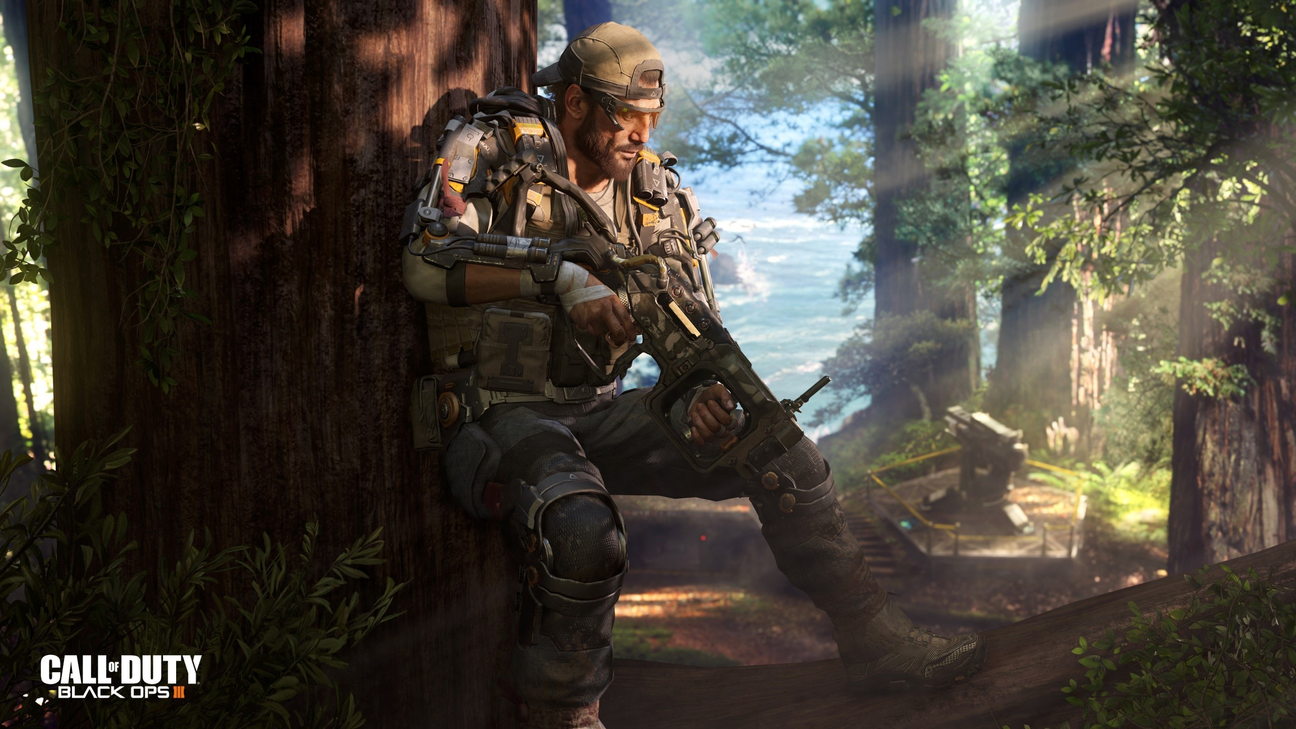 Specialist Nomad Of Call Of Duty Black Ops 3 Wallpaper 2k Quad Hd