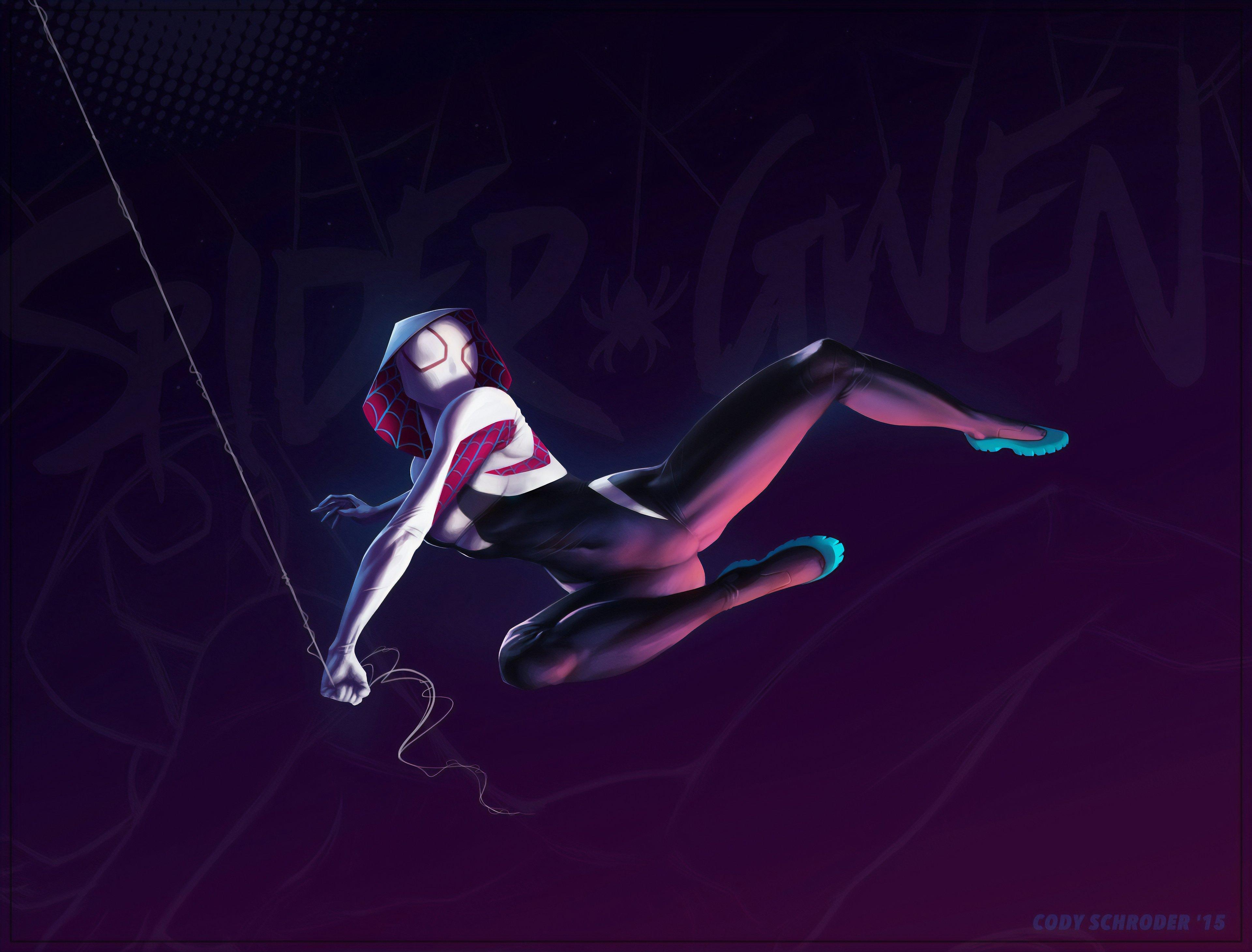 Fondos de pantalla Spider Gwen Stacy en Spider-Man: Un nuevo universo