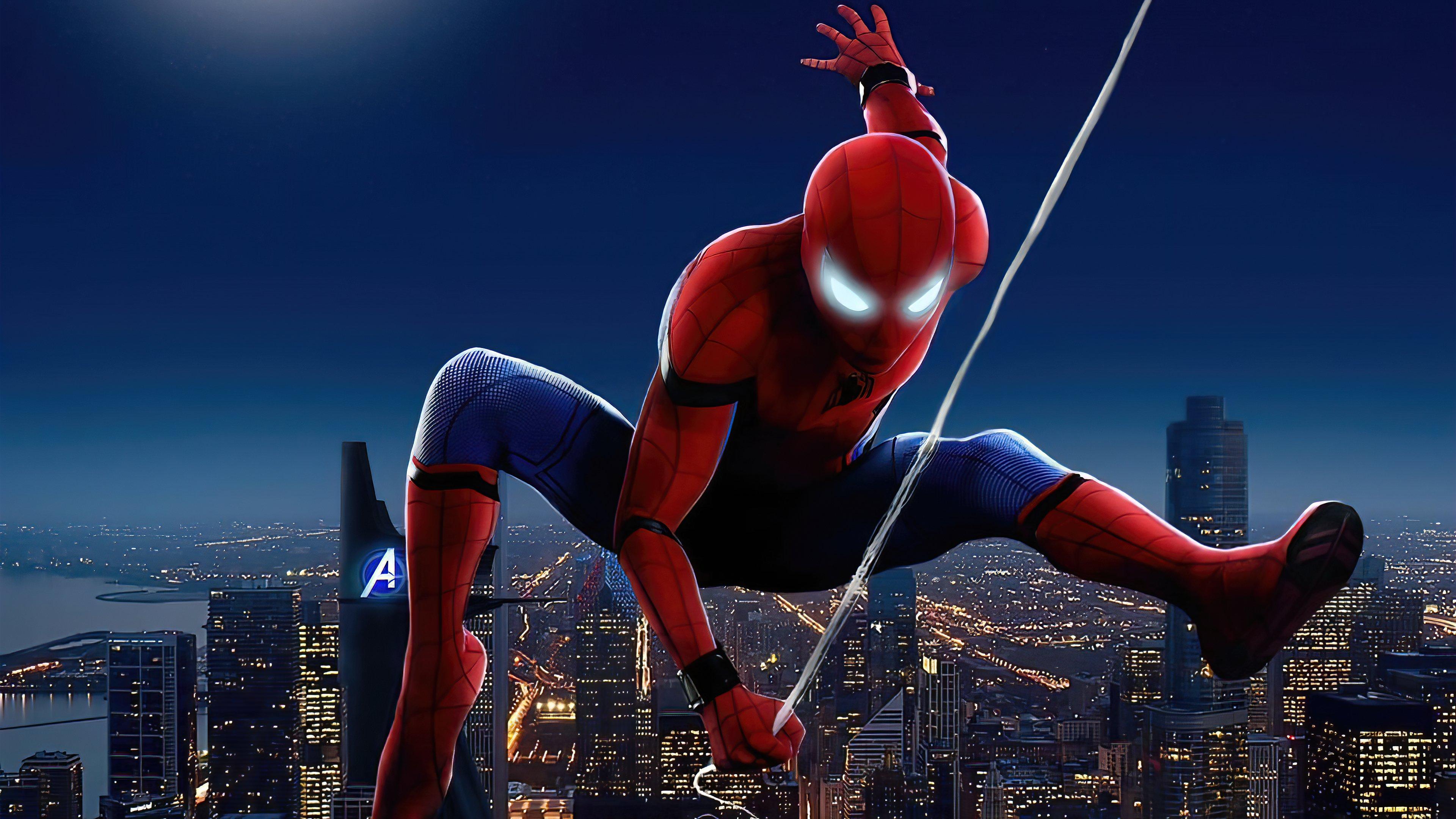 Fondos de pantalla Spider Man en la ciudad