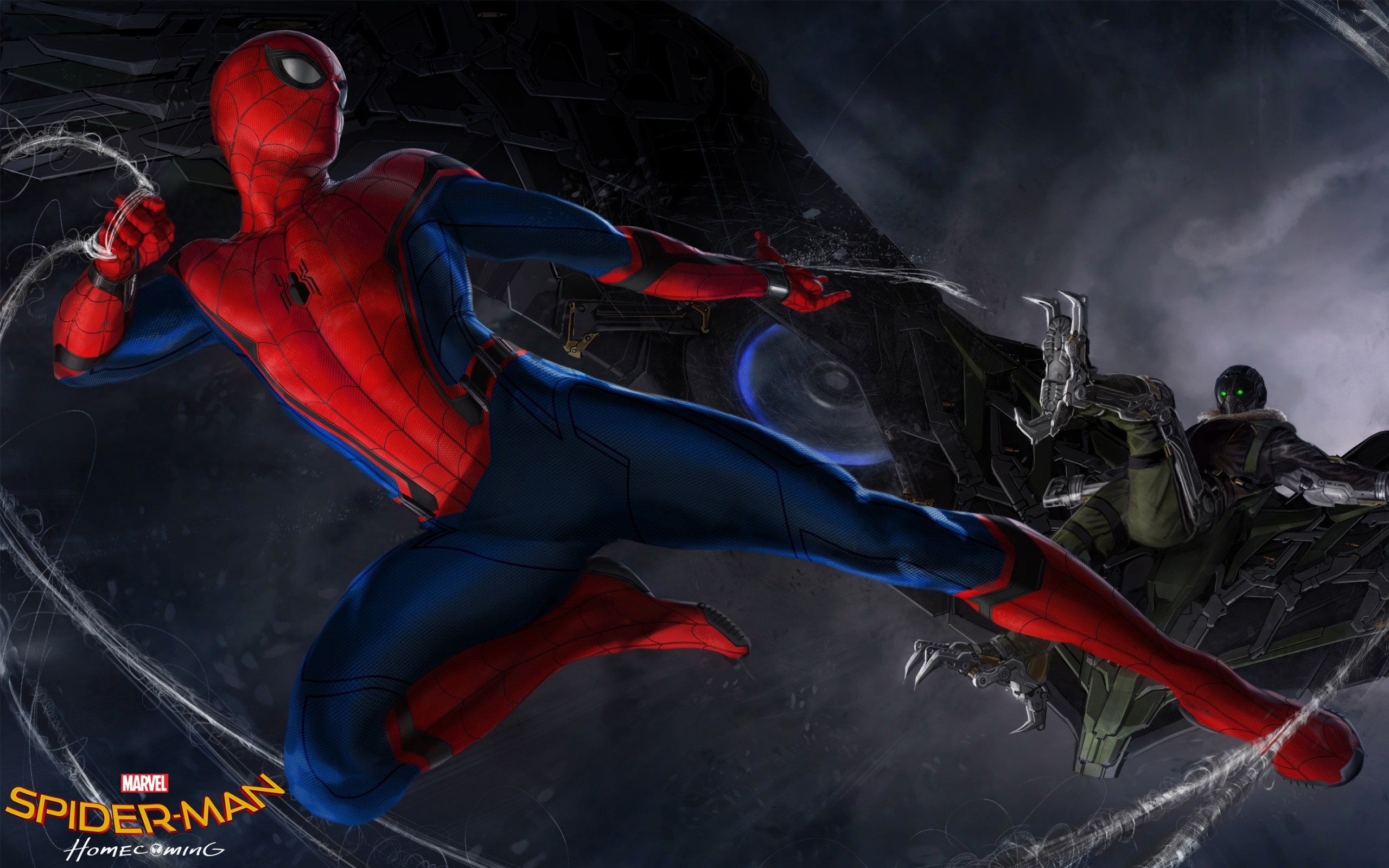 Wallpaper Spider man Homecoming
