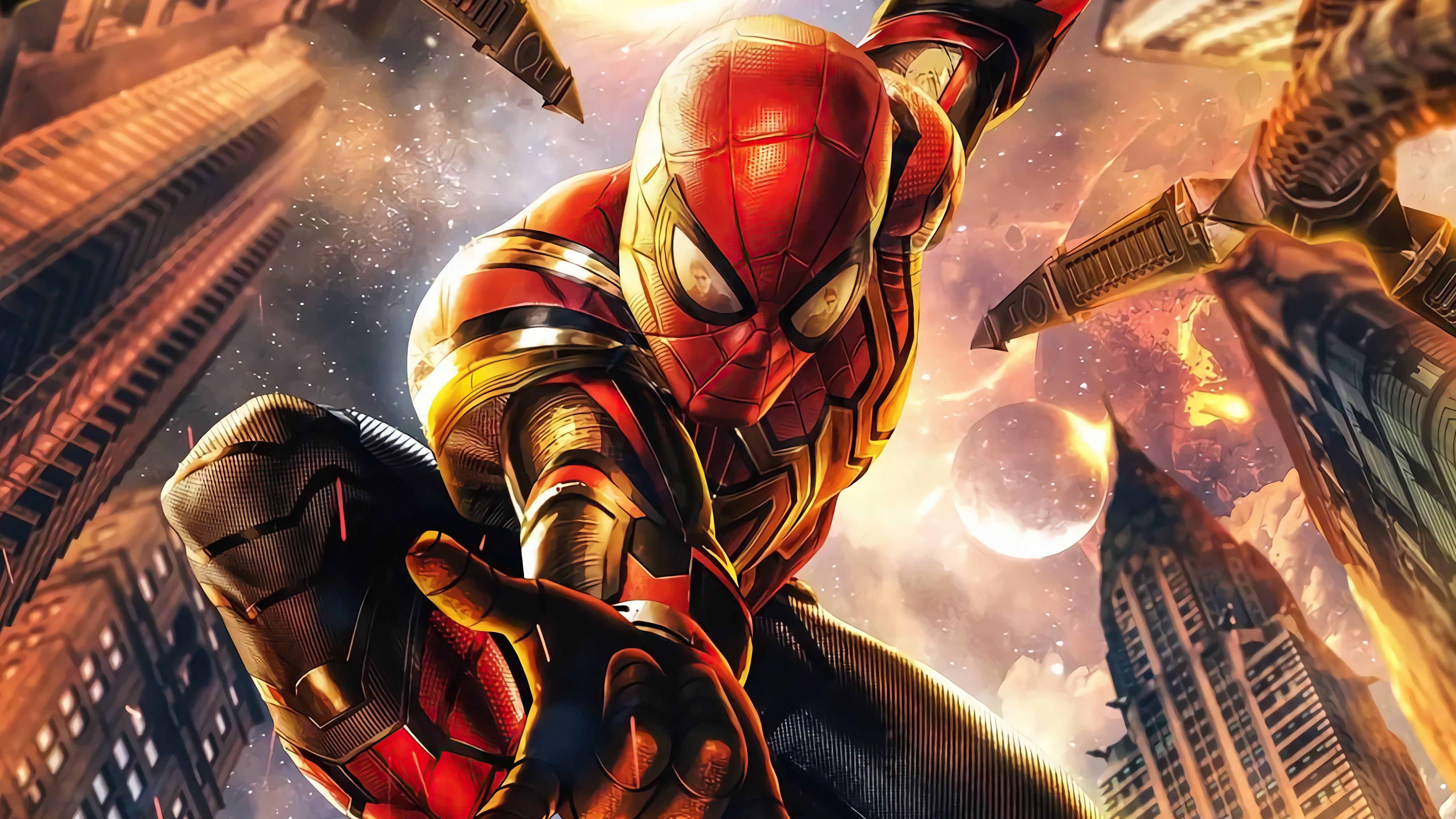 Wallpaper Spider Man No way home