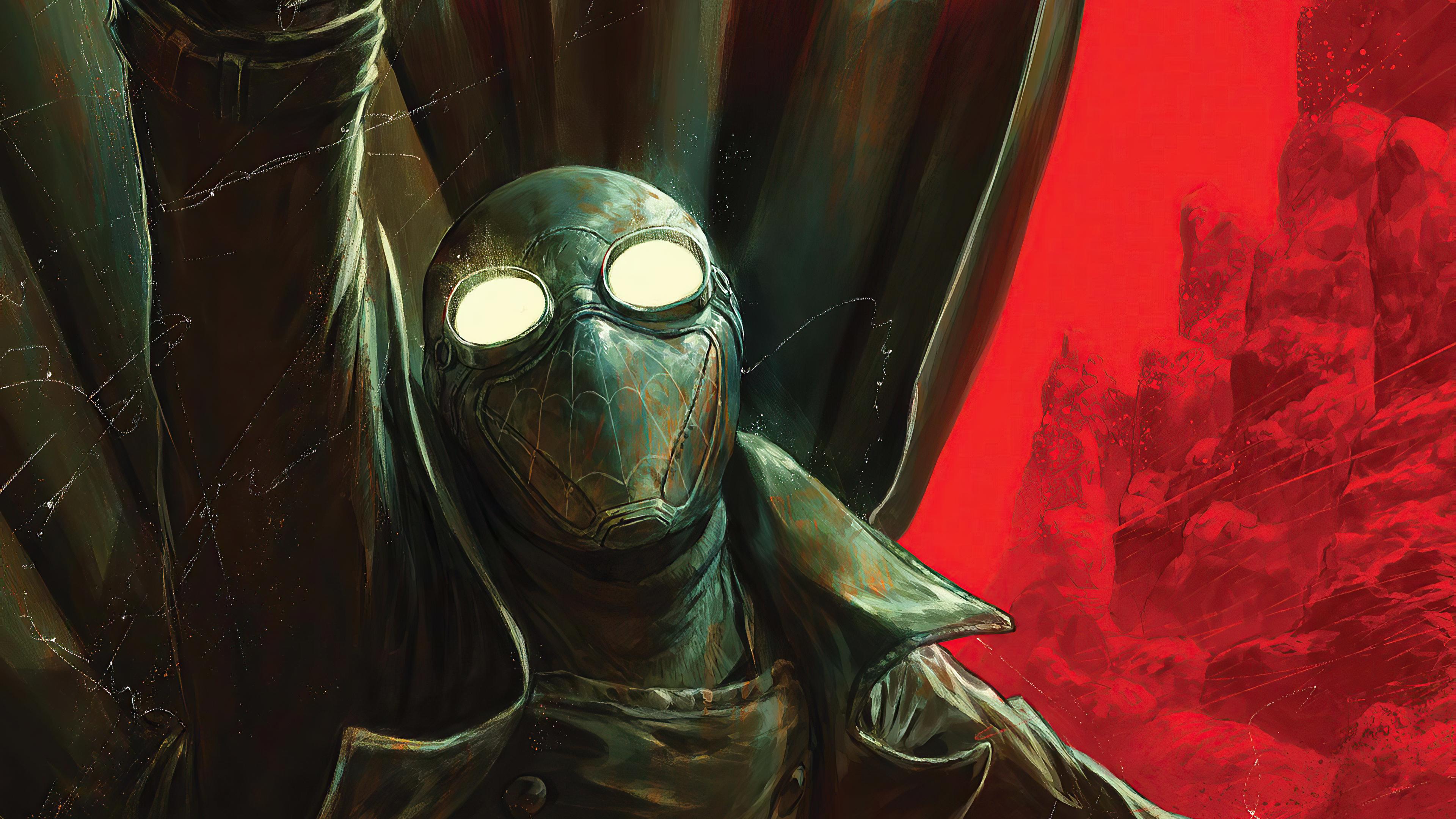 Wallpaper Spider Man Noir 2020