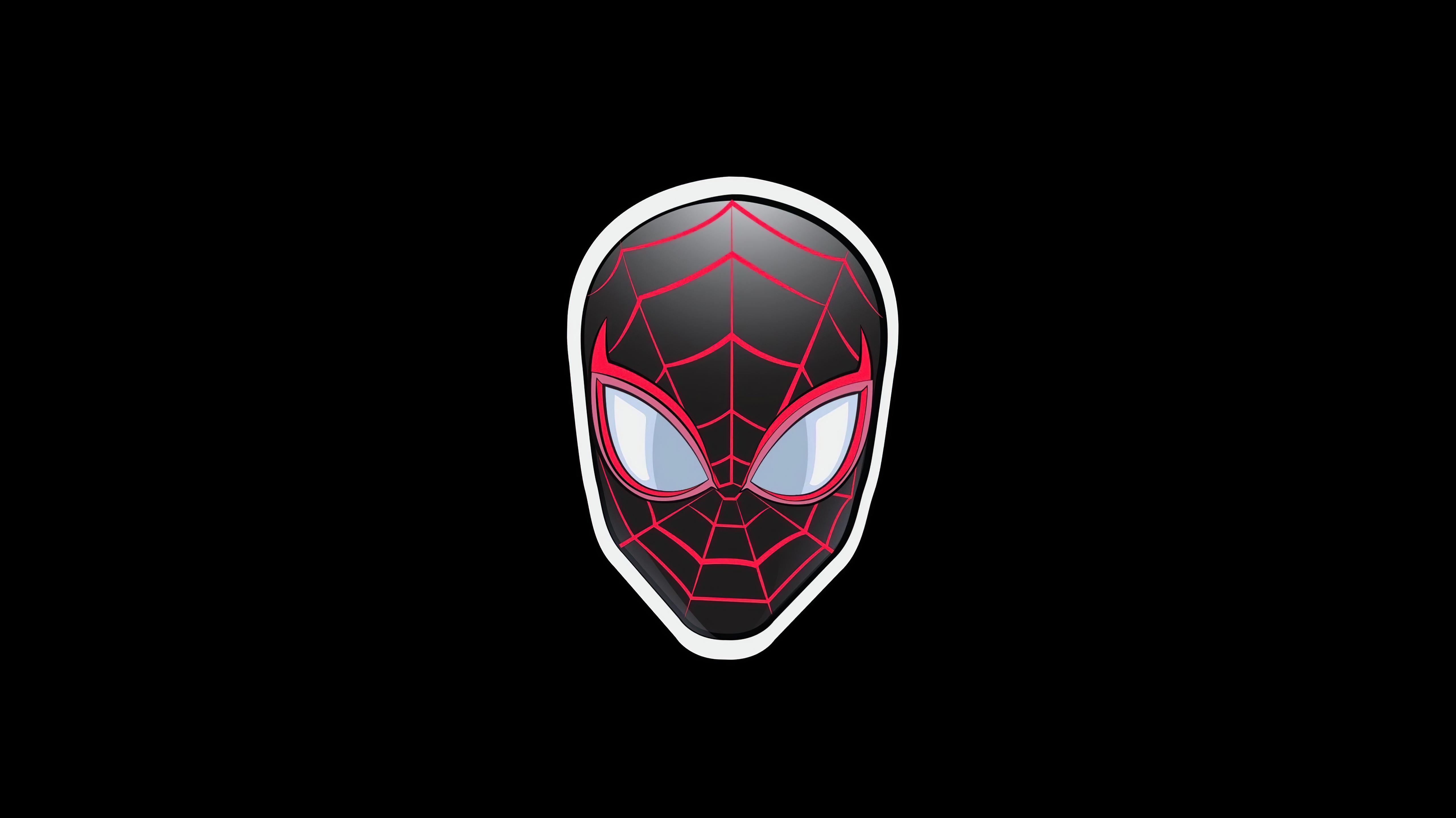 Fondos de pantalla Spider Man Sticker Minimalista