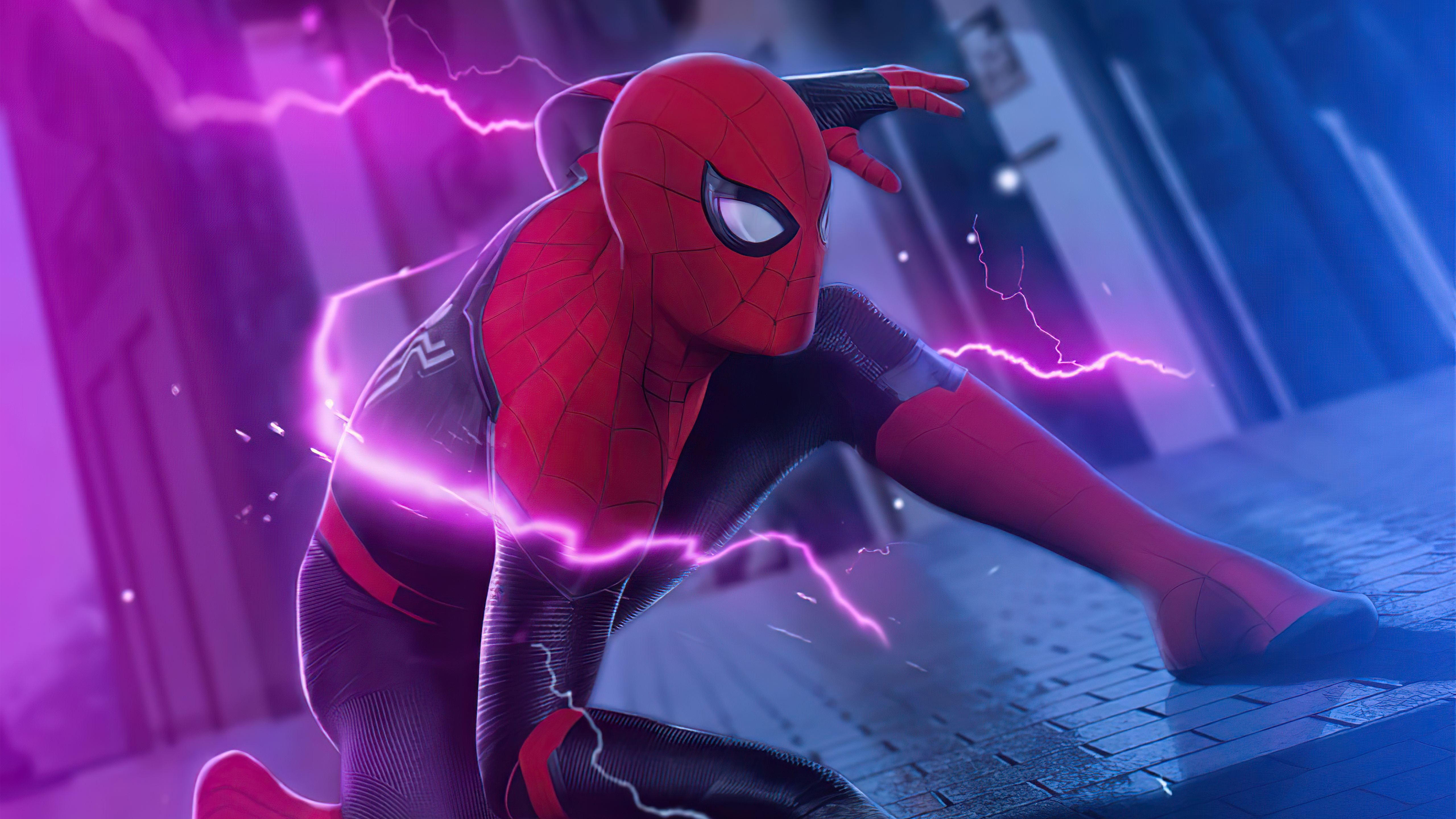 Wallpaper Spider Man Surreal
