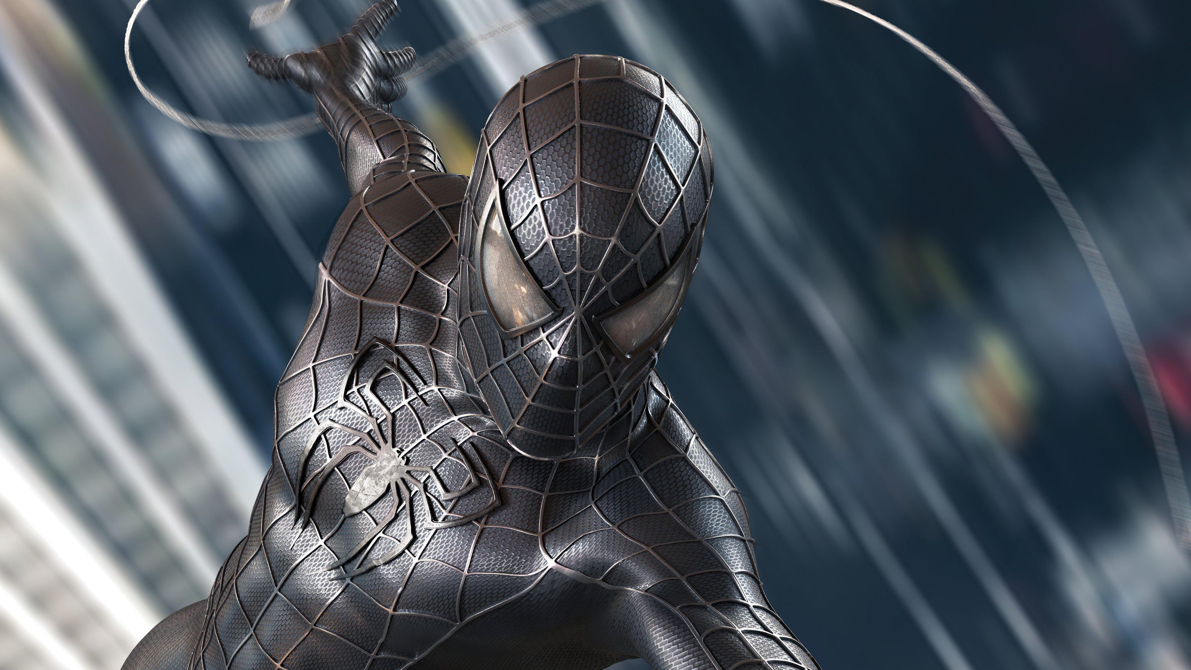 Fondos de pantalla Spider Man Traje negro Symbiote