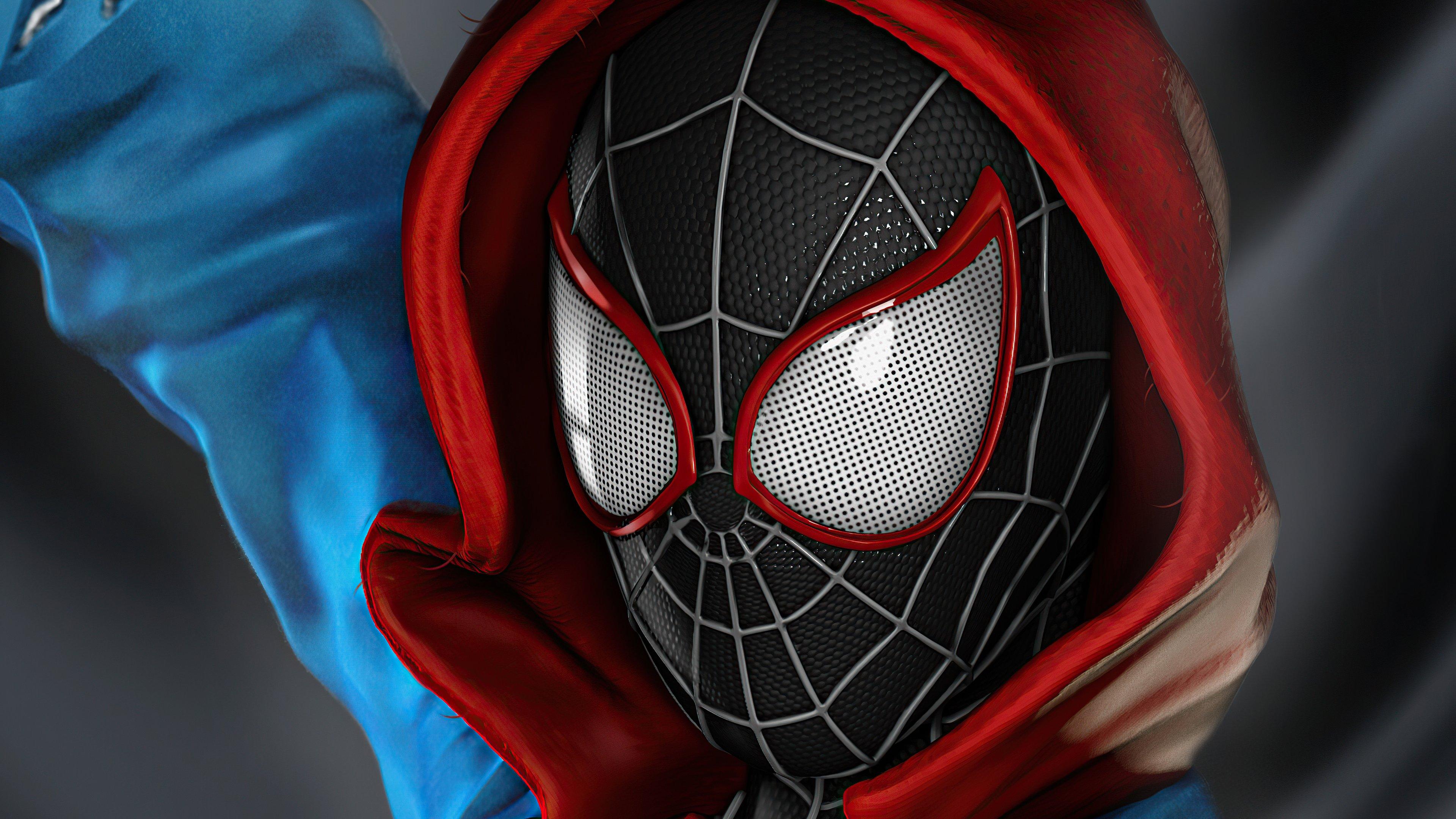 Wallpaper Spiderman Miles Morales