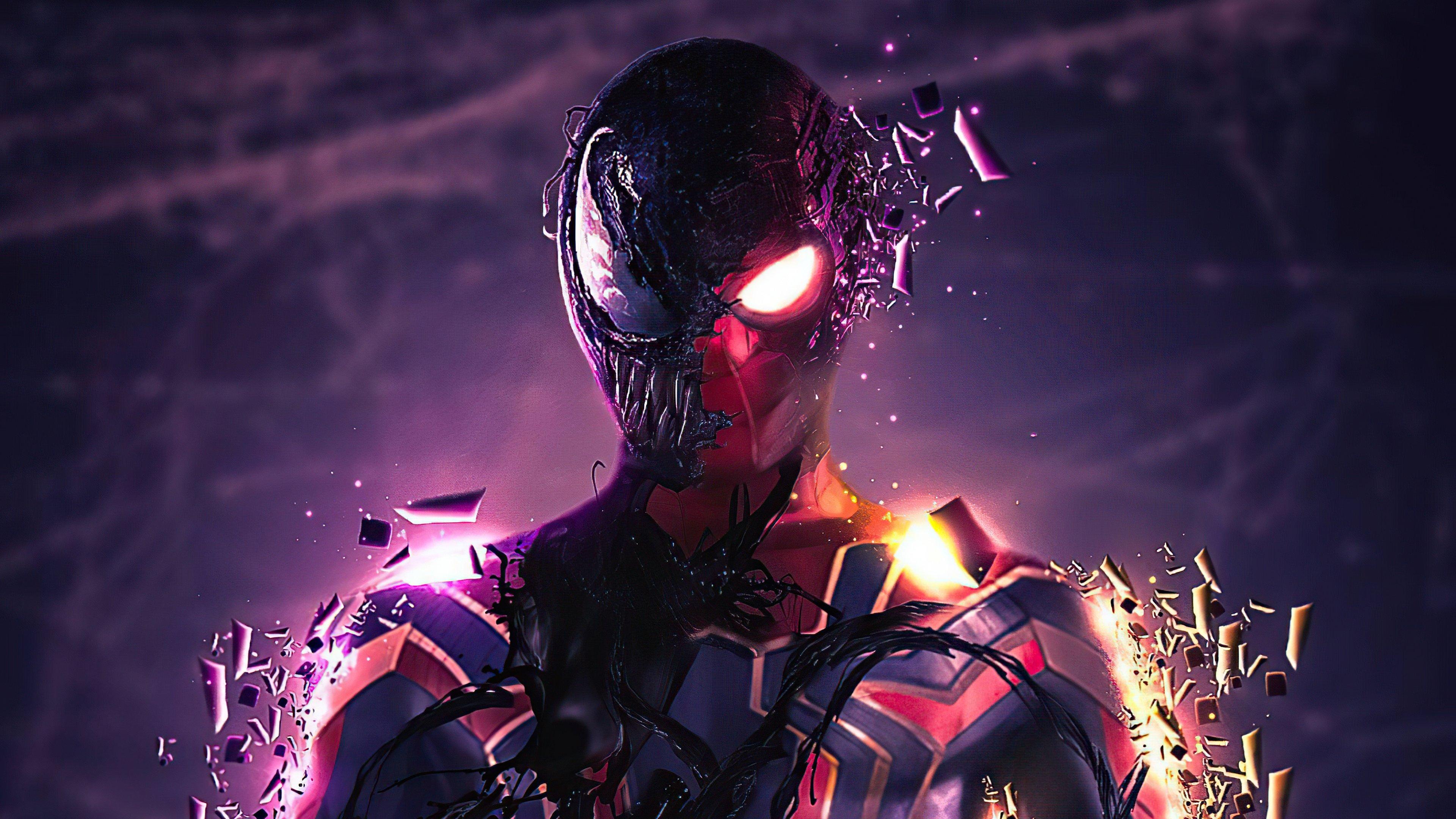Fondos de pantalla Spidey Venom