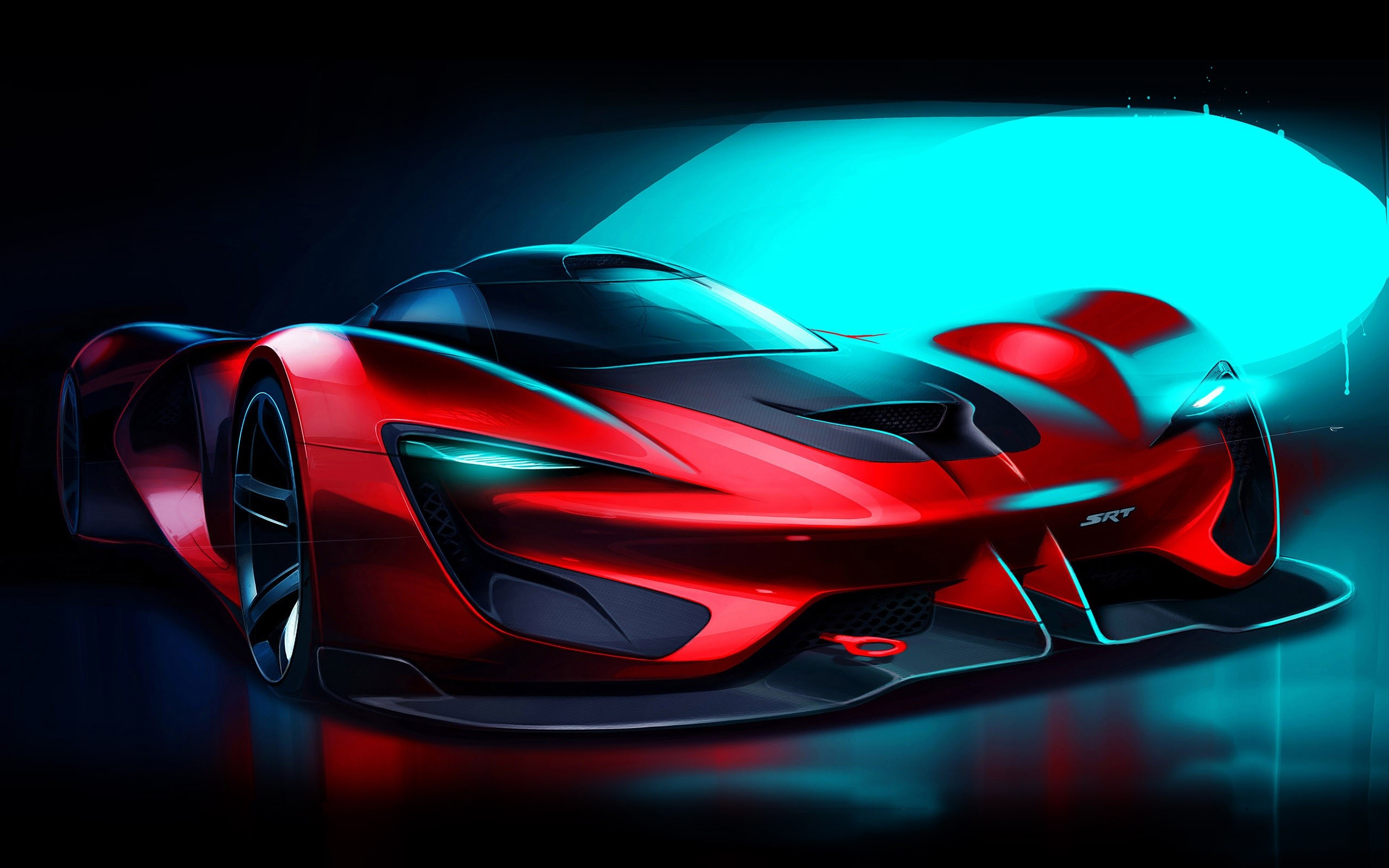 Wallpaper SRT Tomahawk Vision in Gran Turismo