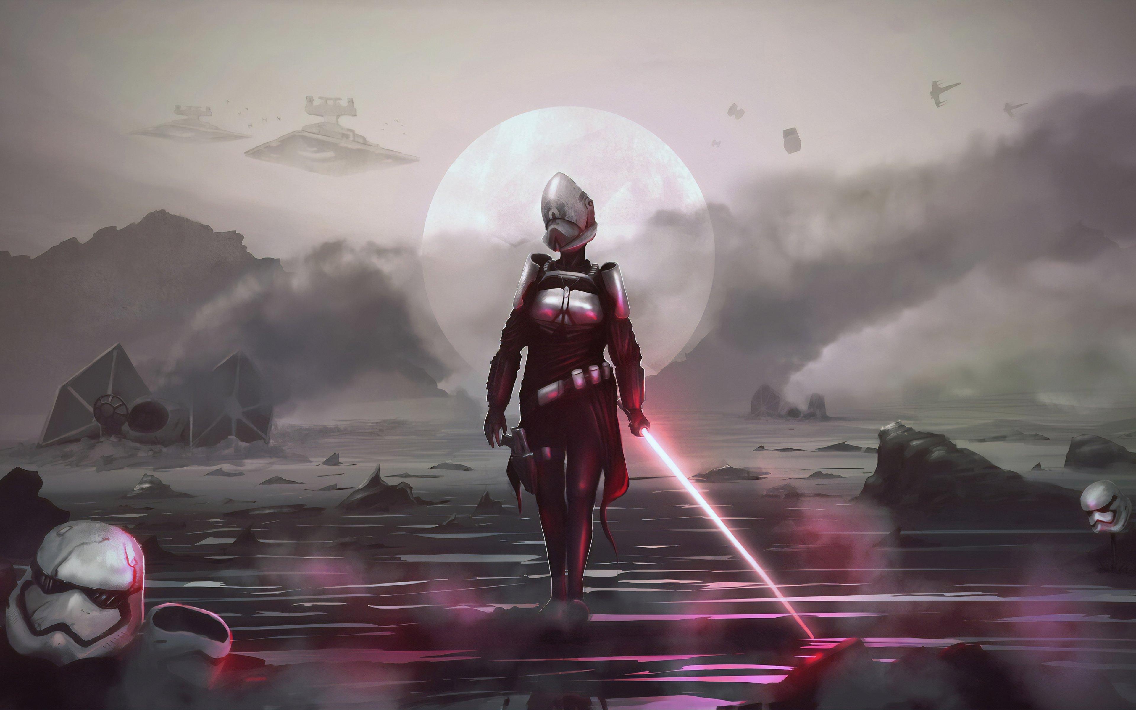 Fondos de pantalla Star wars fanart