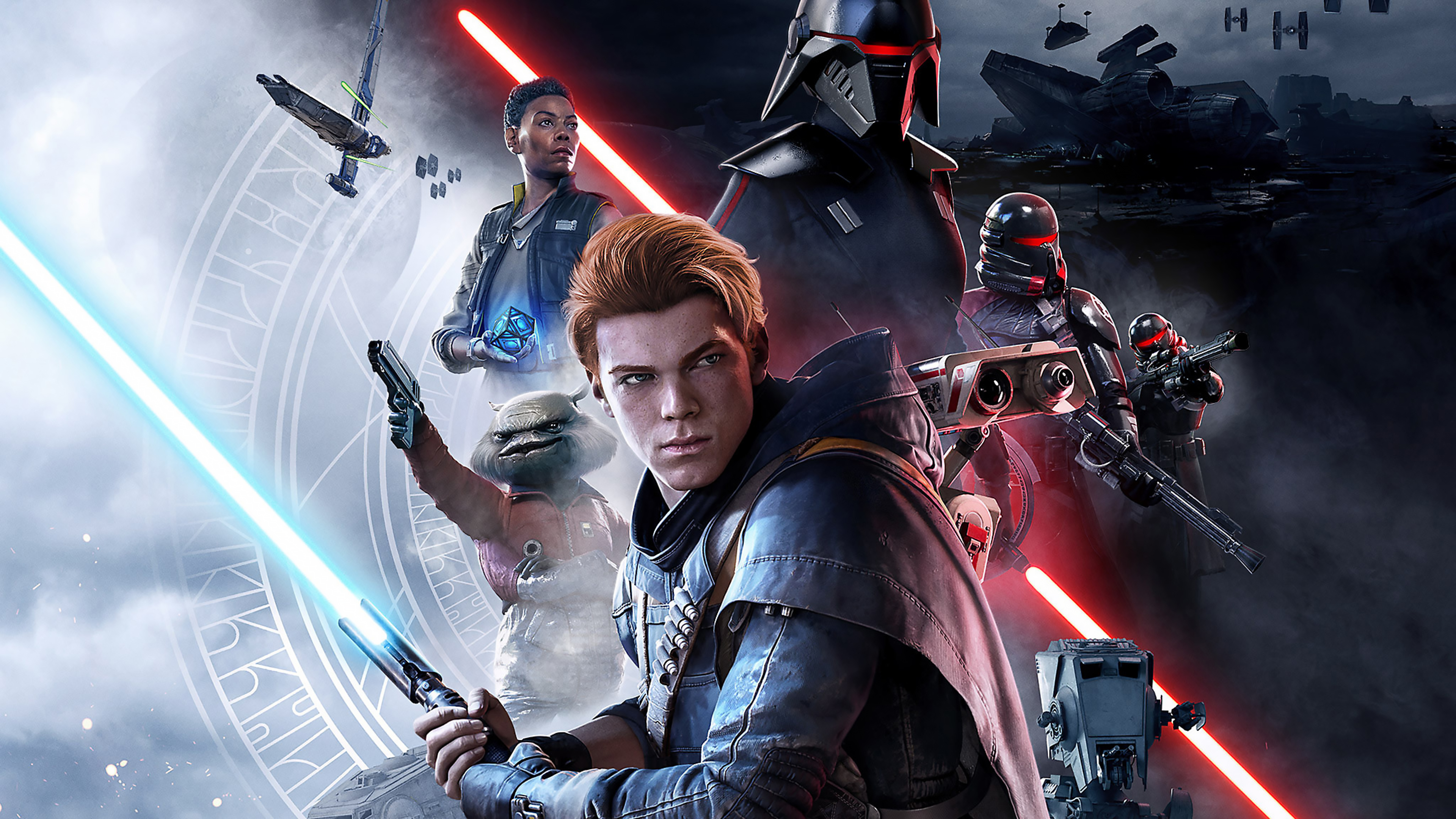 Wallpaper Star Wars Jedi Fallen Order Game