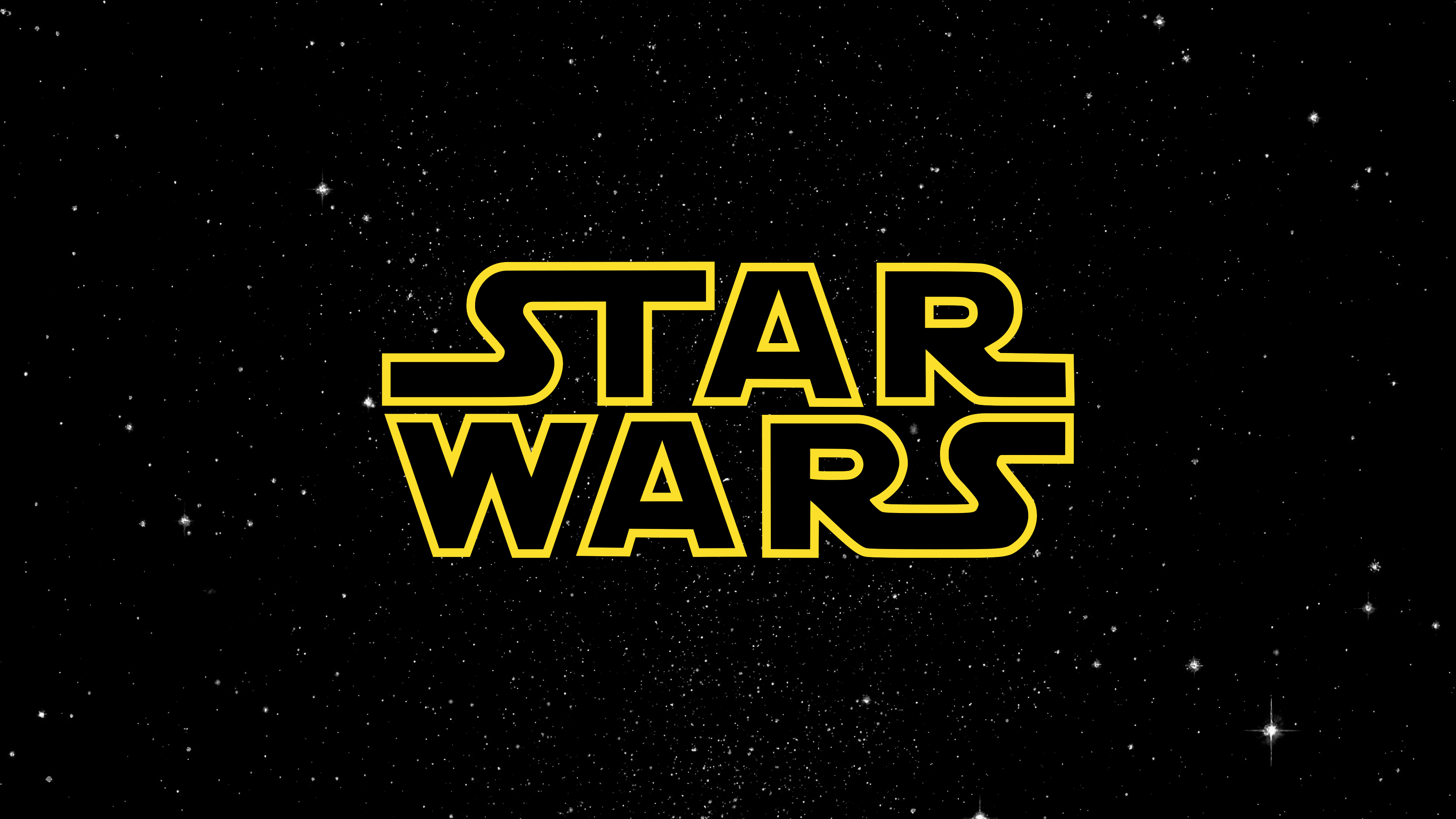 Star Wars Logo Wallpaper 4k Ultra Hd Id3654