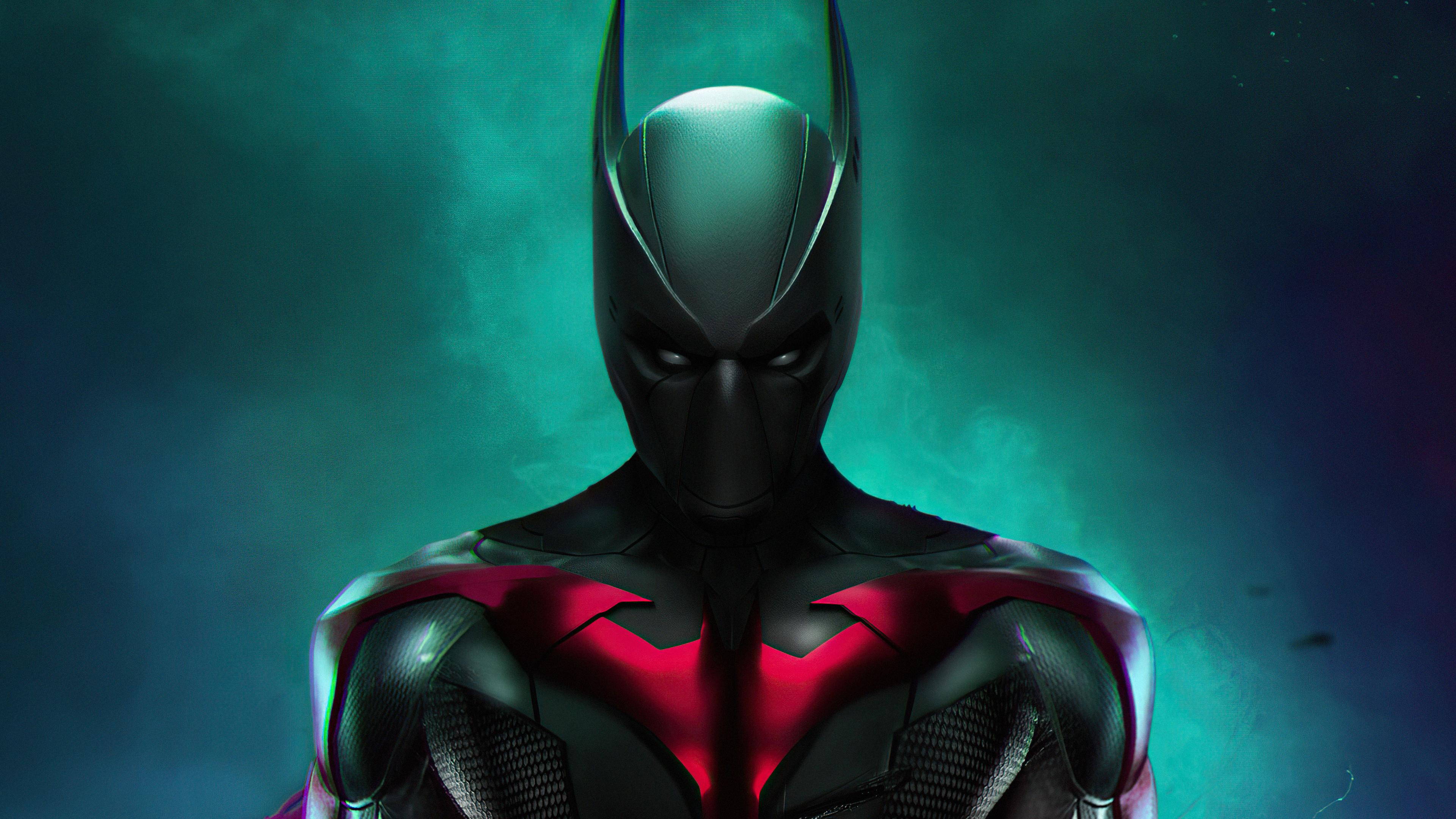 Wallpaper Stranger Batman Beyond
