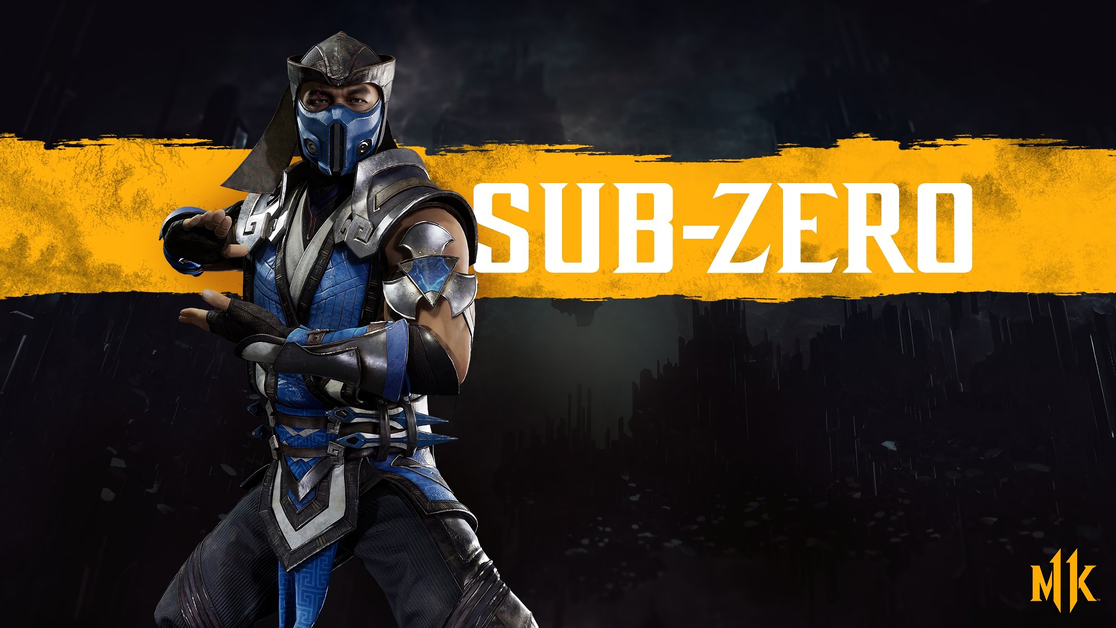 Wallpaper Sub Zero of Mortal Kombat