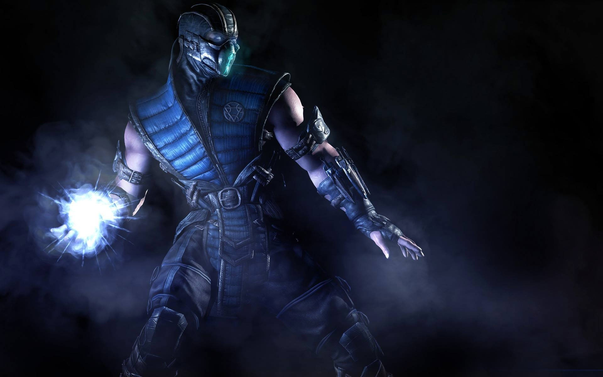 Wallpaper Sub Zero of Mortal Kombat X