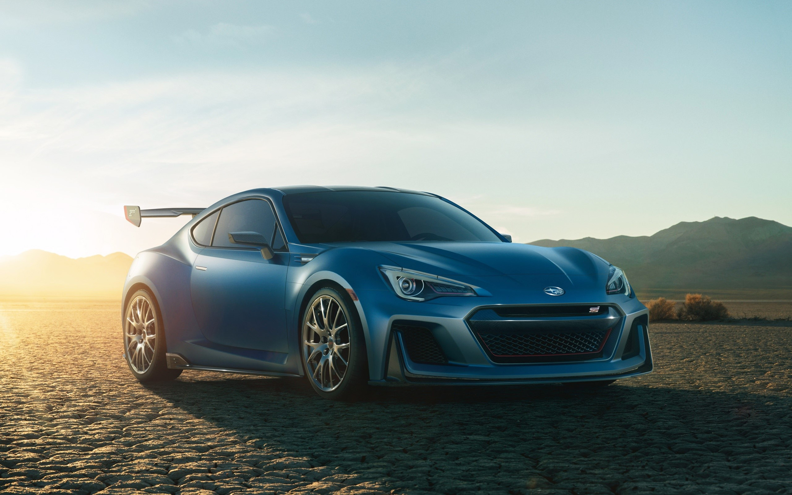 Wallpaper Subaru STI performance concept