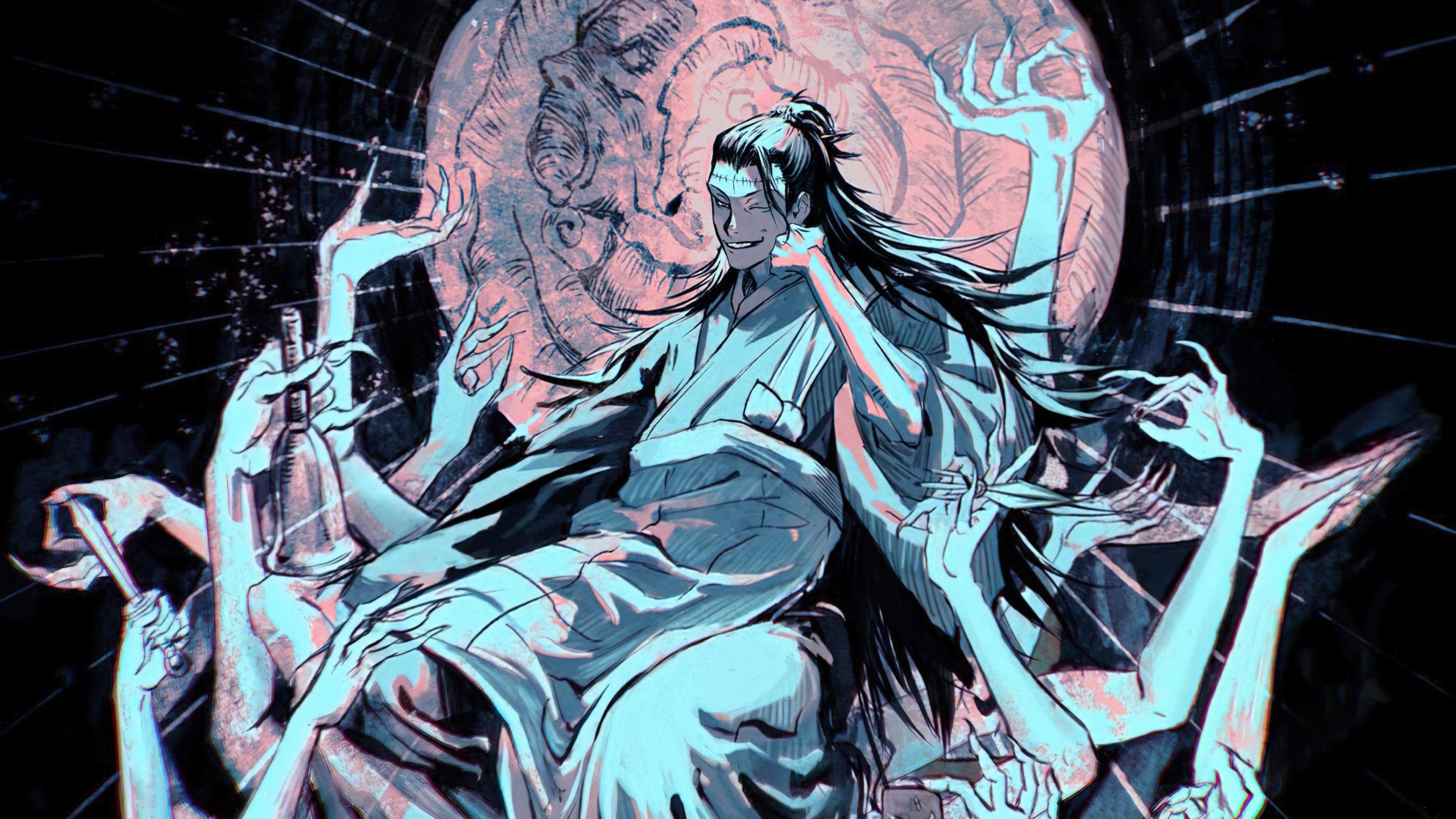 Fondos de pantalla Anime Suguru Geto de Jujutsu Kaisen
