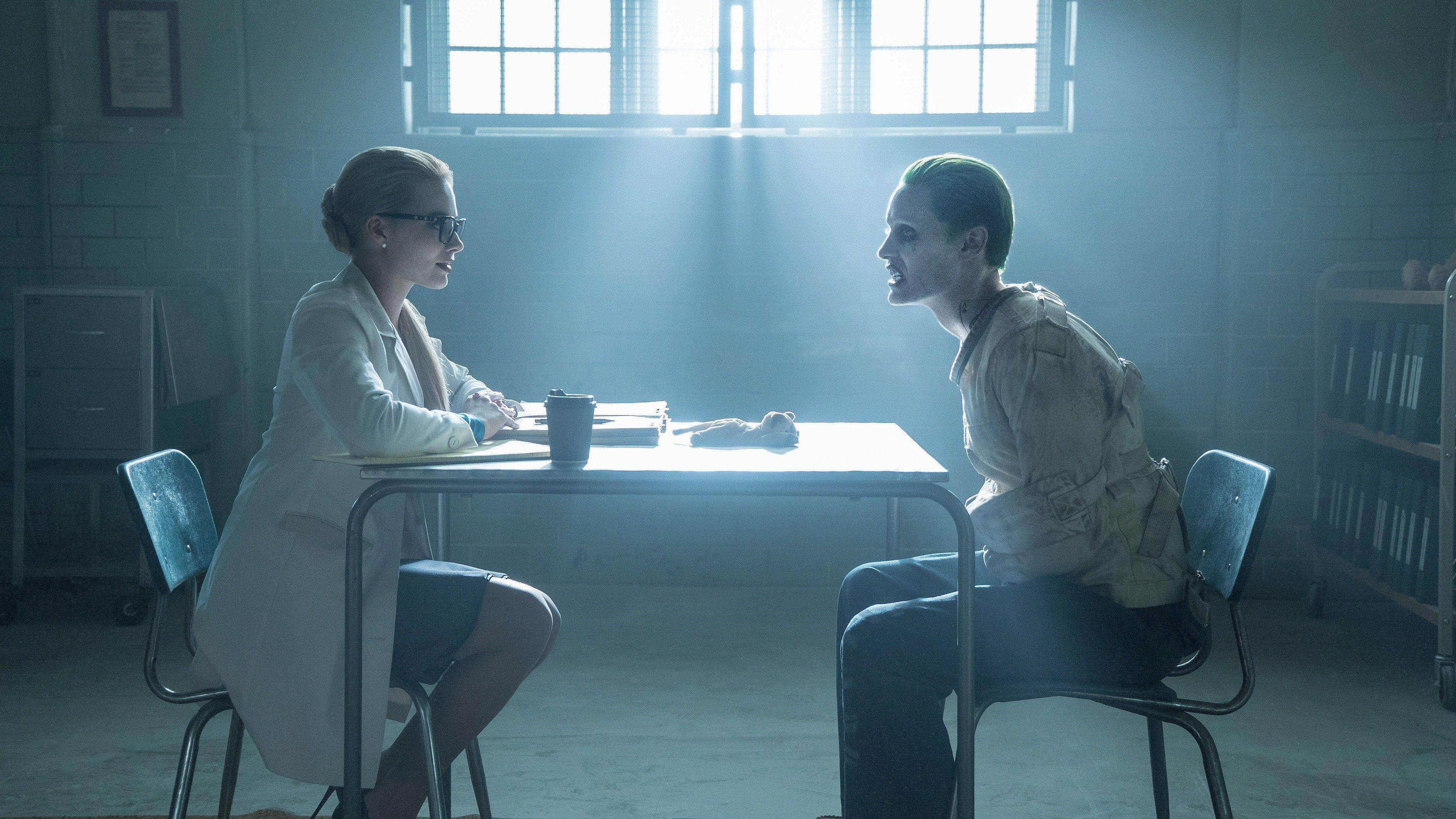 Fondos de pantalla Suicide Squad Jared Leto Joker y Margot Robbie Harley Quinn