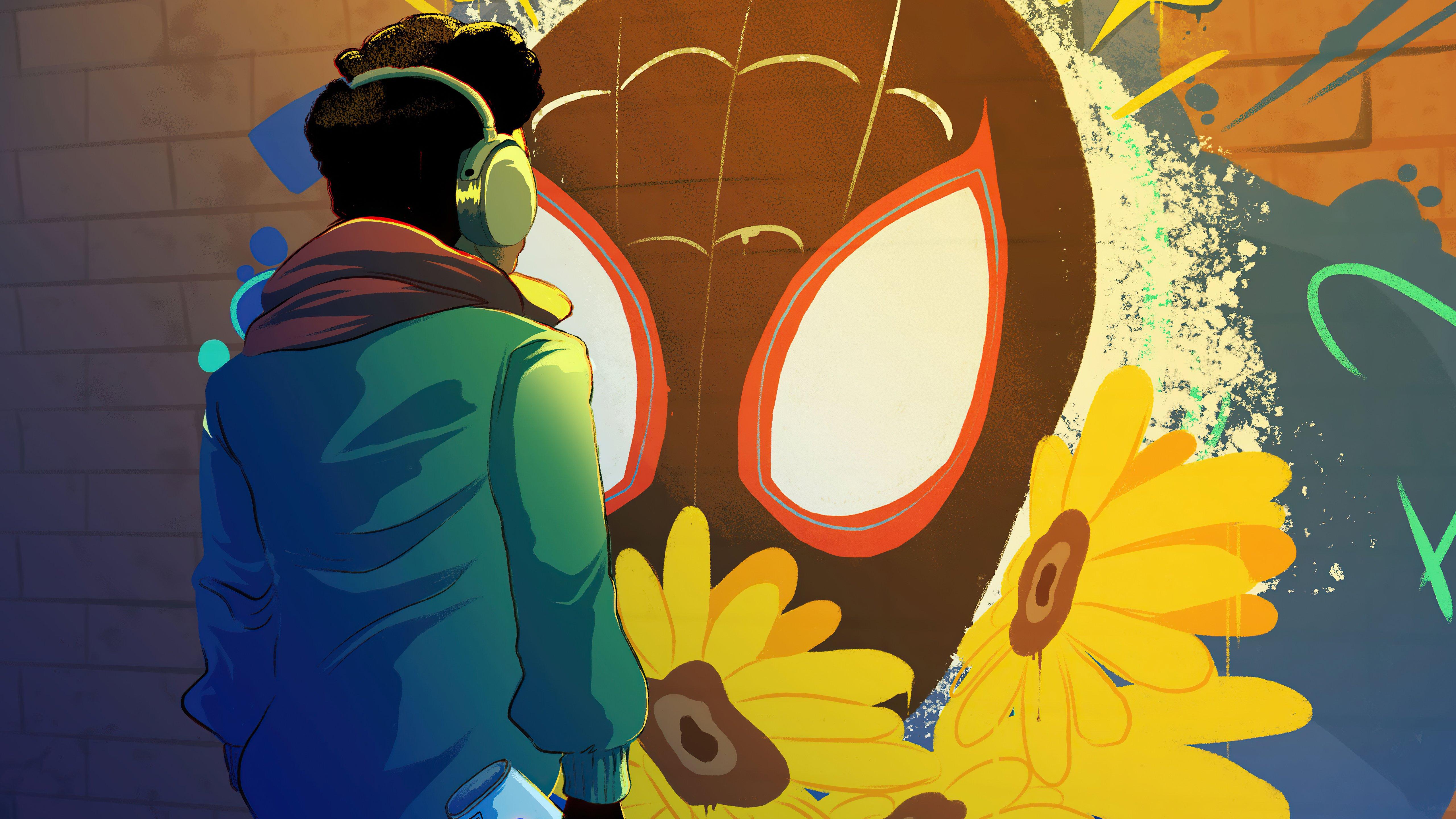 Fondos de pantalla Sunflower Spider Man Fanart