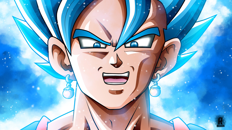 Fondos de pantalla Anime Super Saiyan Blue de Dragon Ball Super