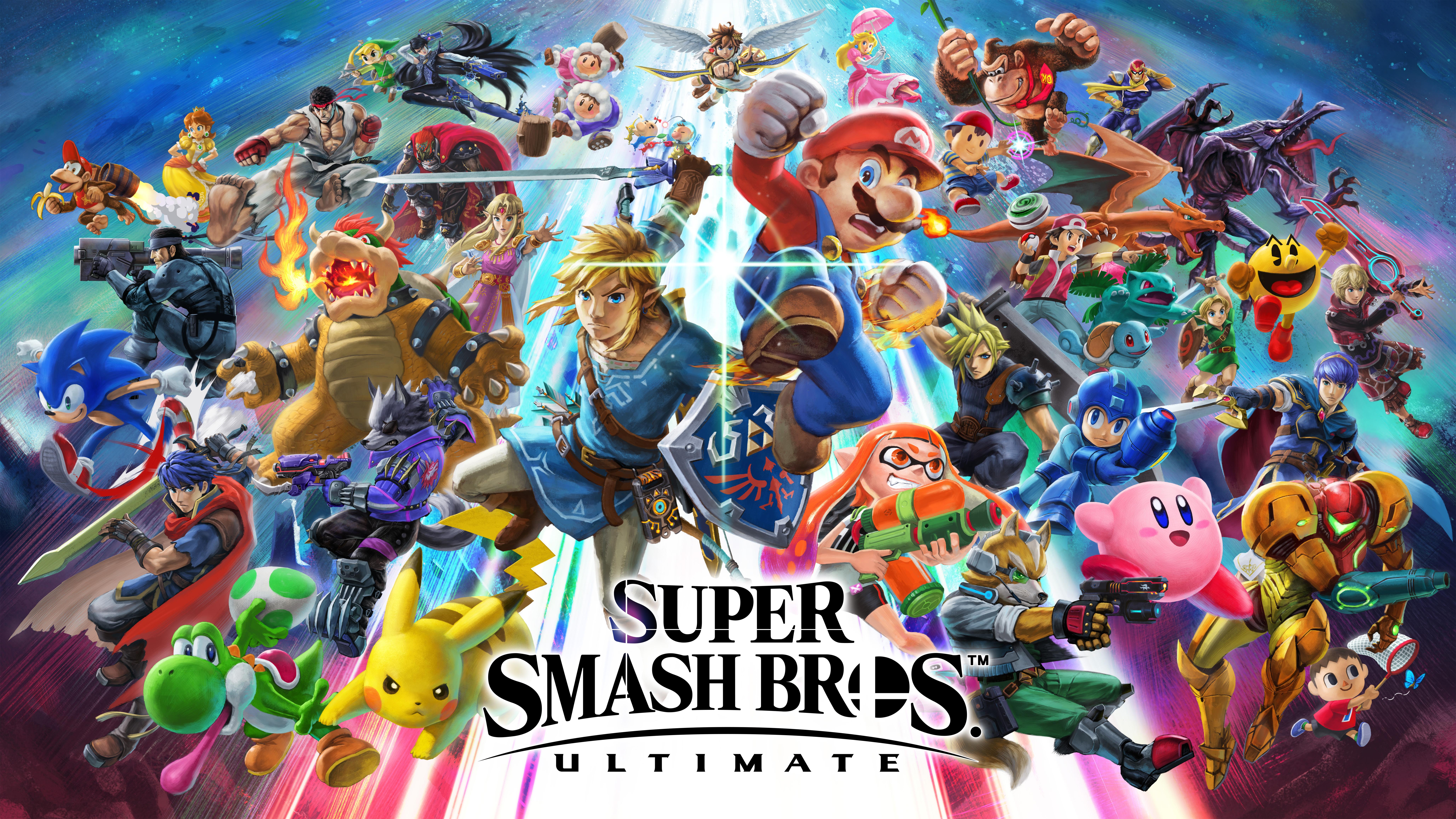 Fondos de pantalla Super Smash Bros Ultimate 8k