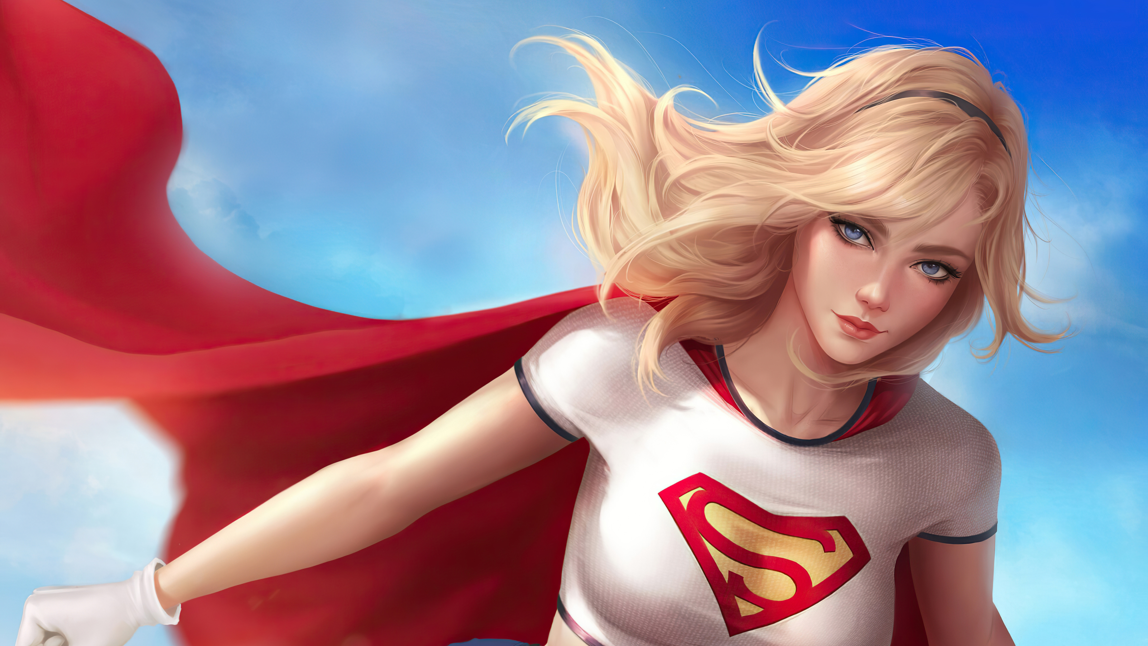 Fondos de pantalla Supergirl Artwork 2020