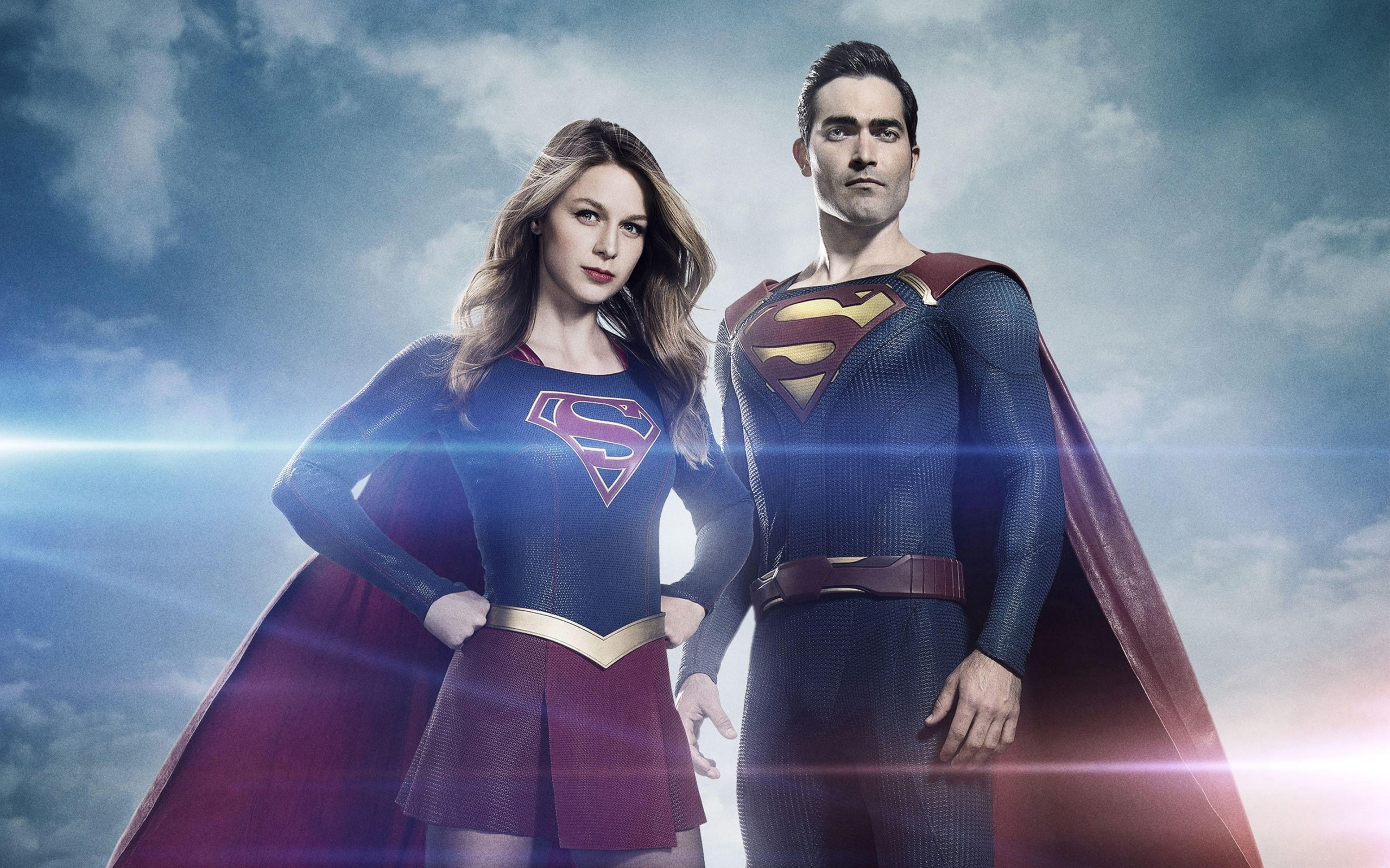 Wallpaper Supergirl y Superman Images