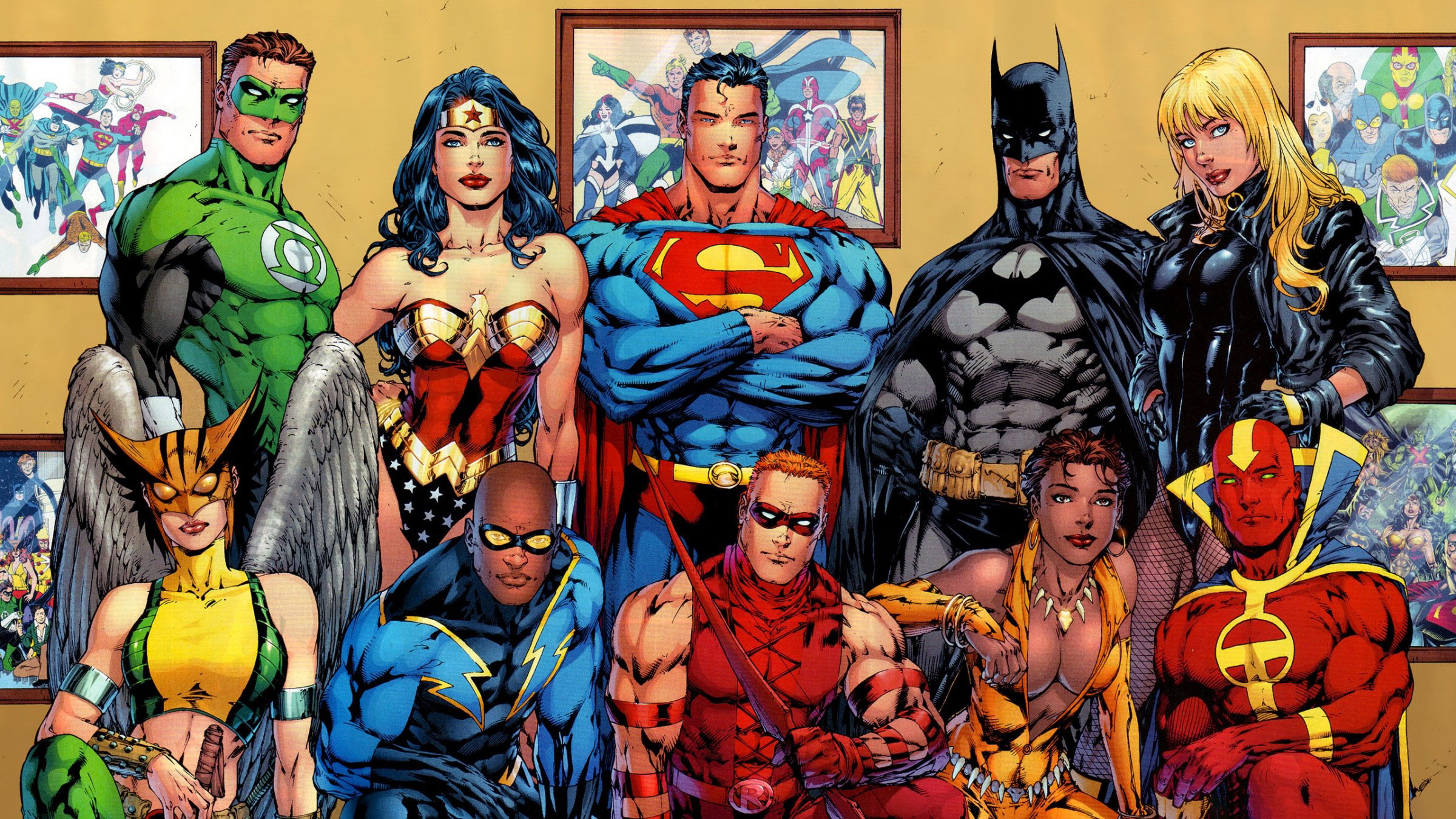 Wallpaper DC Comics superheroes