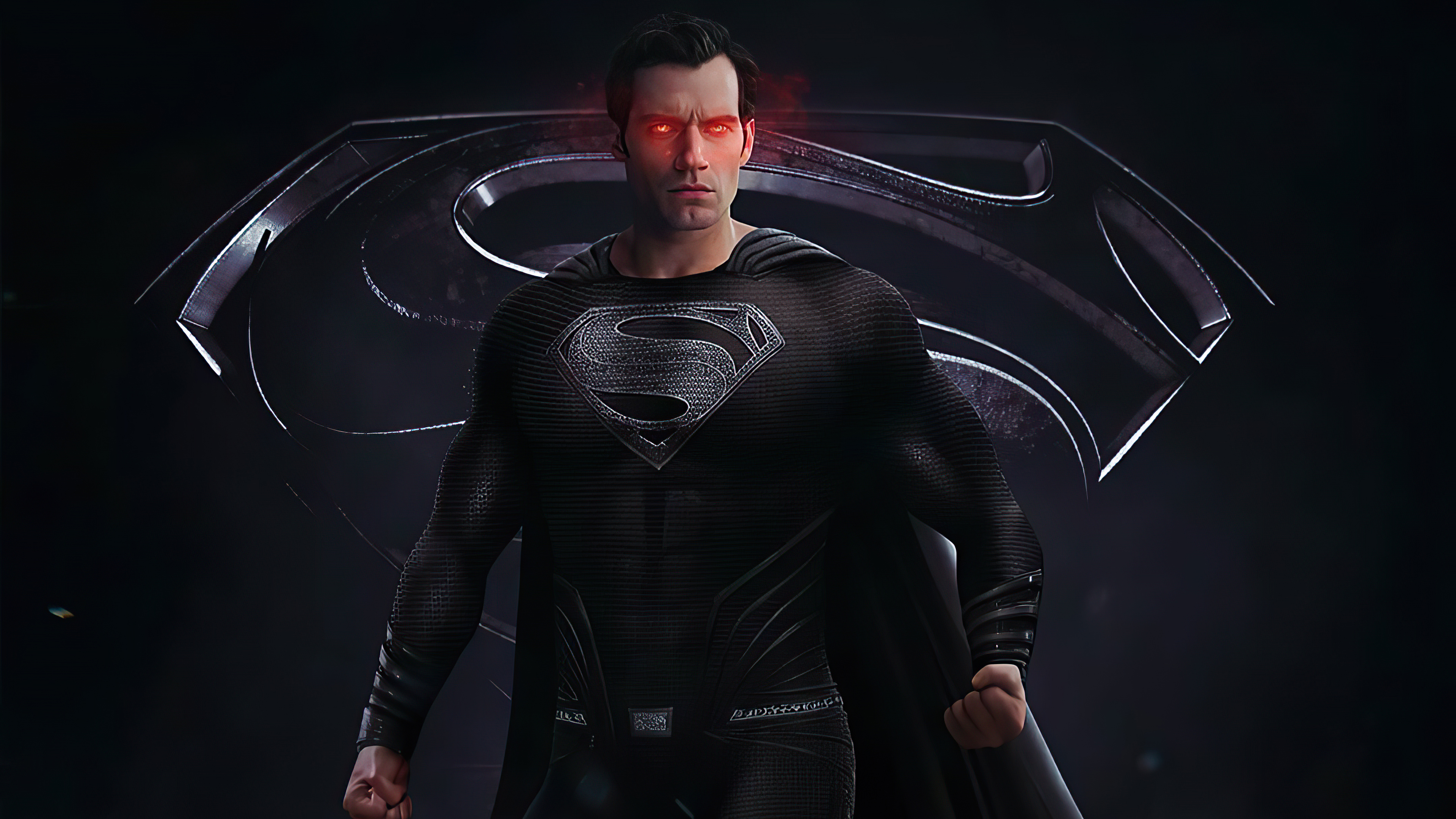 Fondos de pantalla Superman con traje negro