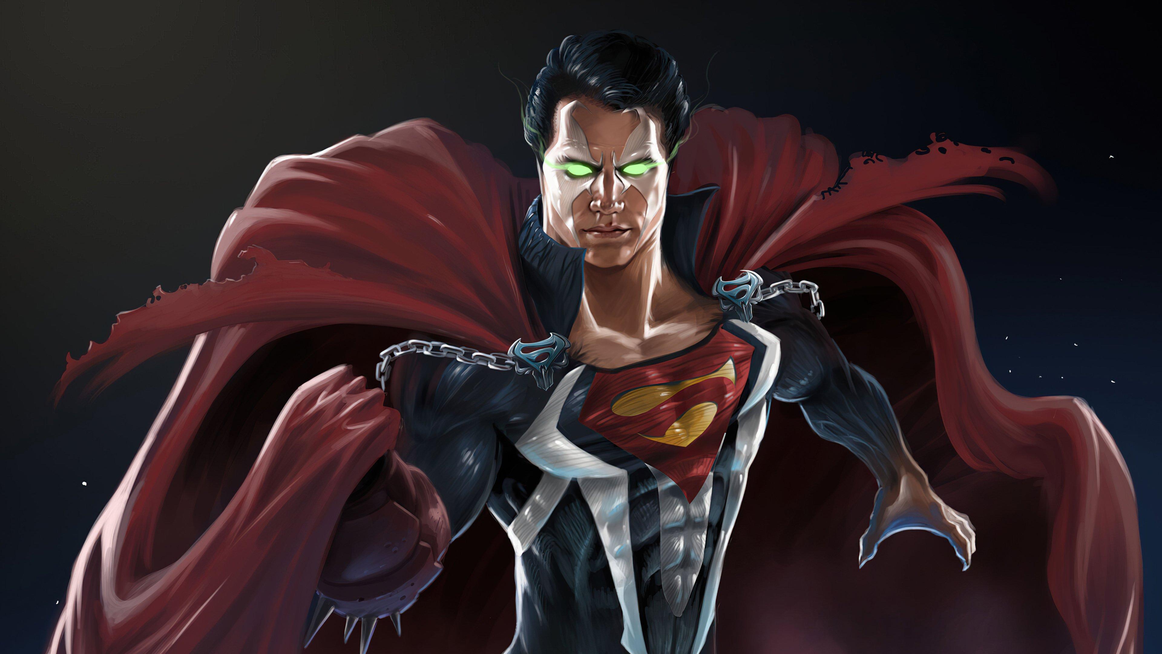 Wallpaper Superman Spawn