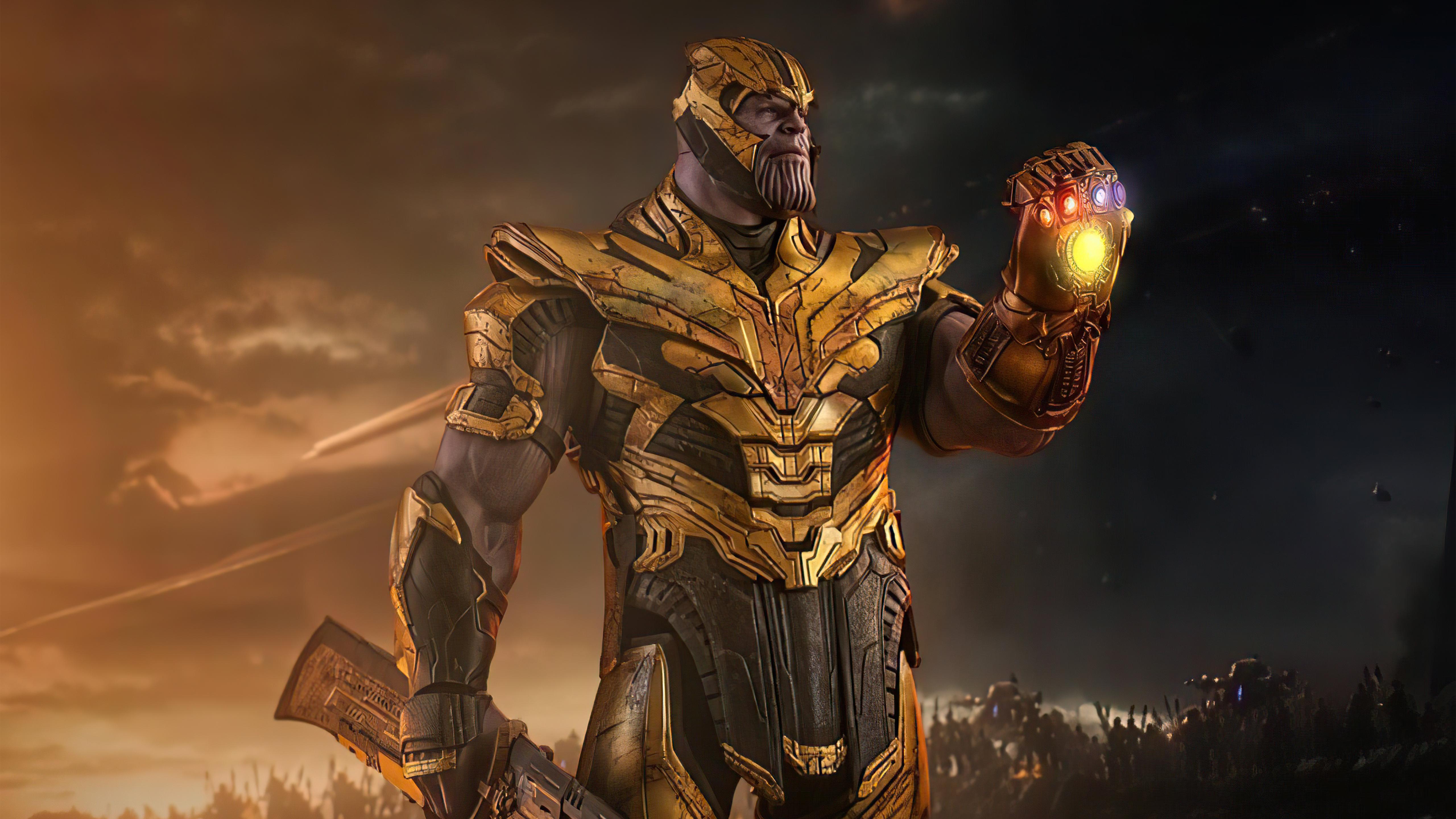 Fondos de pantalla Supervillano Thanos