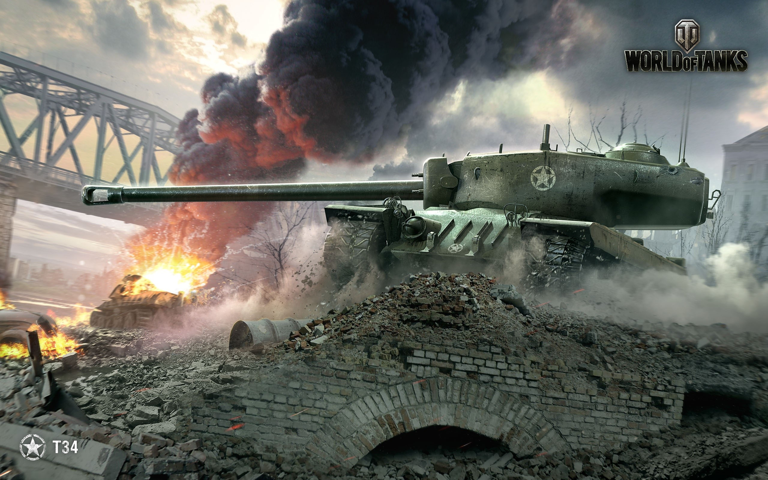 Fondos de pantalla T34 World of tanks