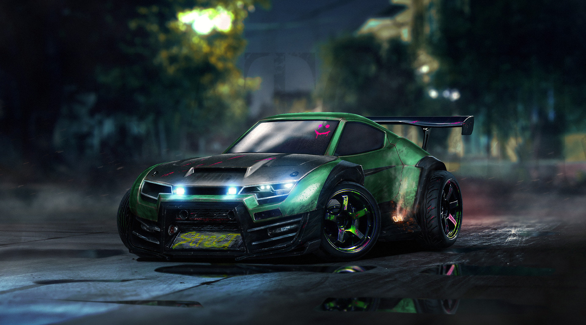 Fondos de pantalla Takumi RX-T de Rocket League Artwork