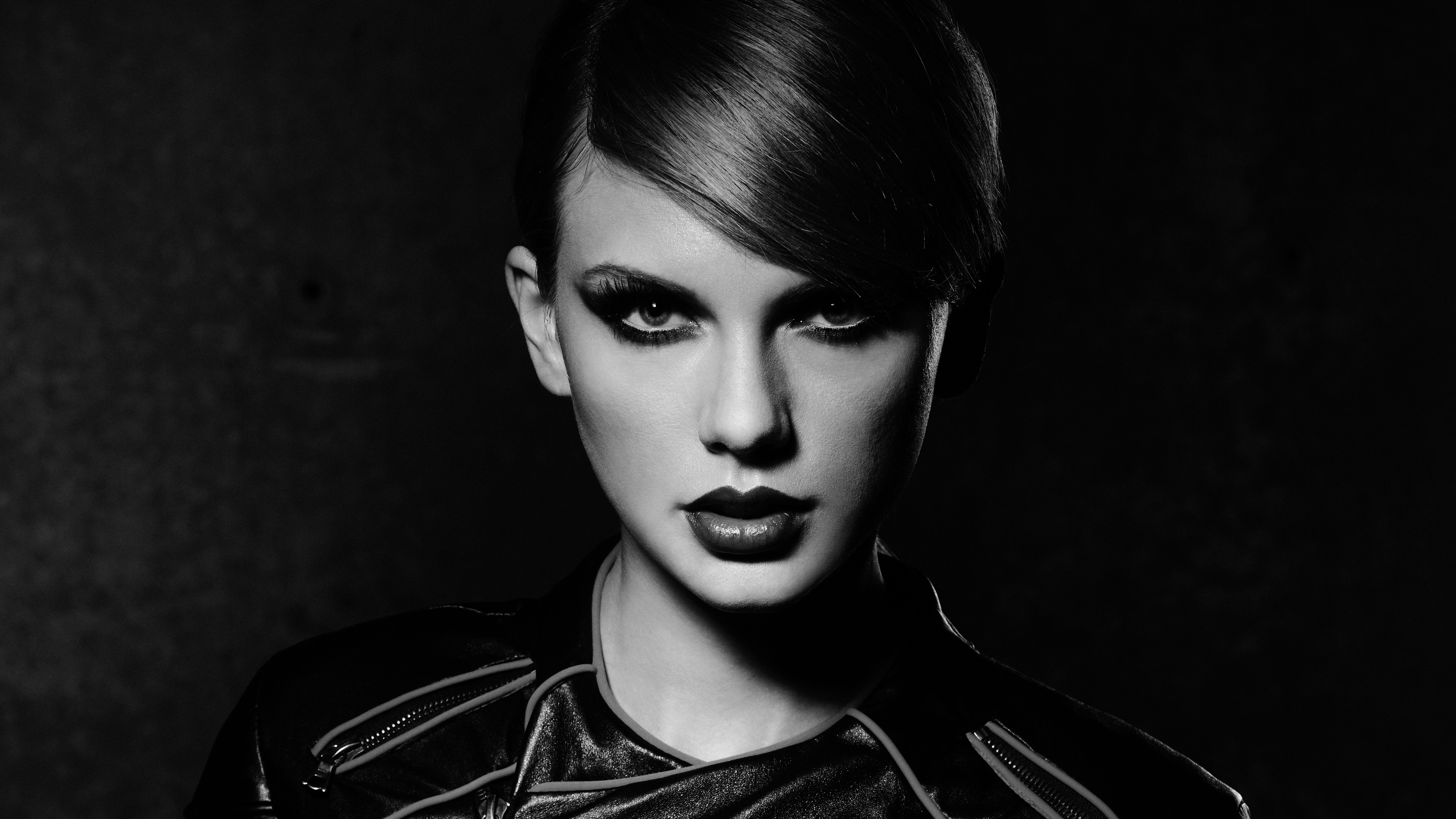Fondos de pantalla Taylor Swift en Escala de grises